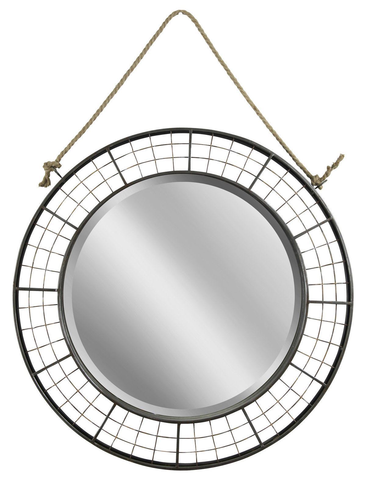 Woven Oil Robbed Bronze Wall Mirror In Most Current Lidya Frameless Beveled Wall Mirrors (View 20 of 20)
