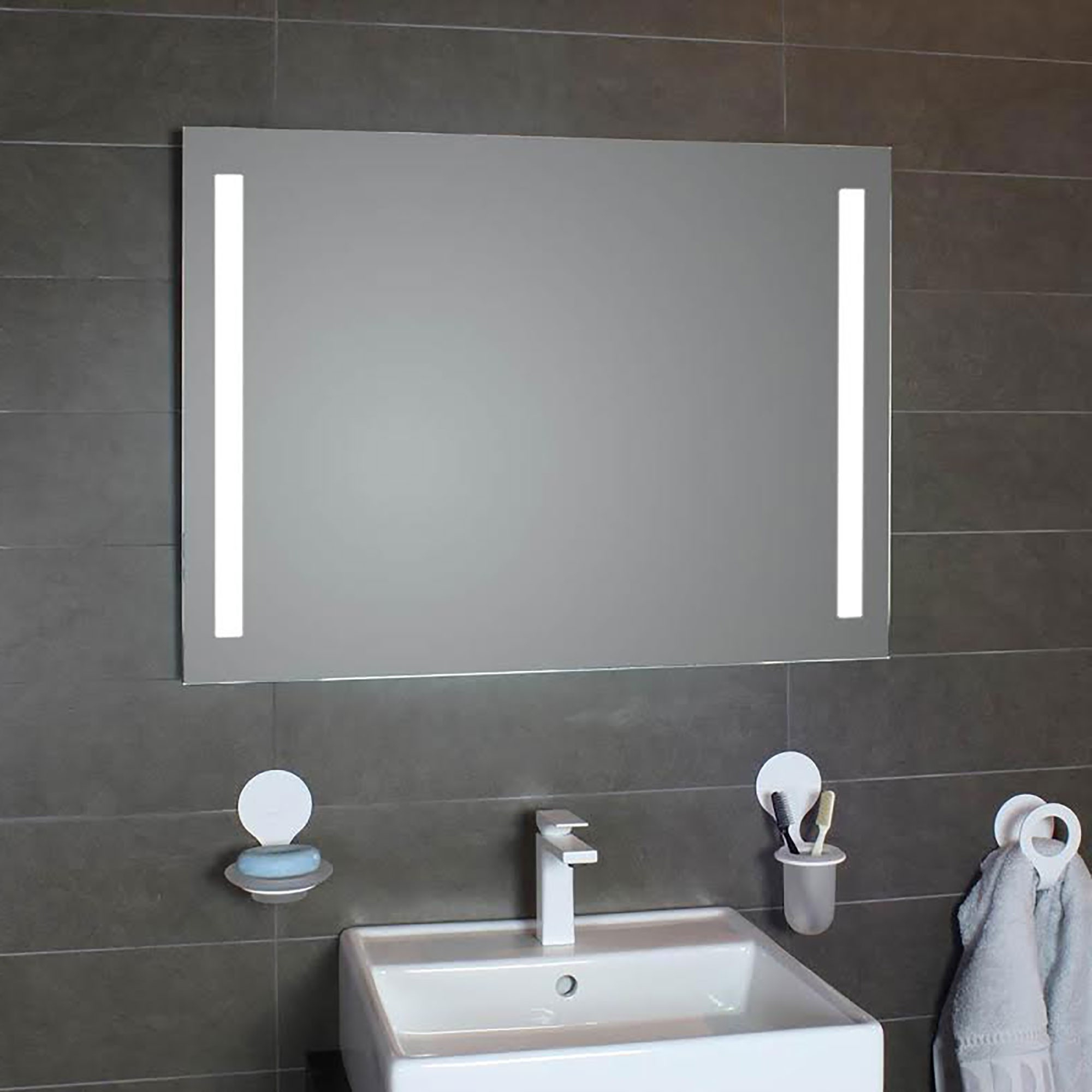 Featured Photo of Lighted Bathroom Wall Mirrors