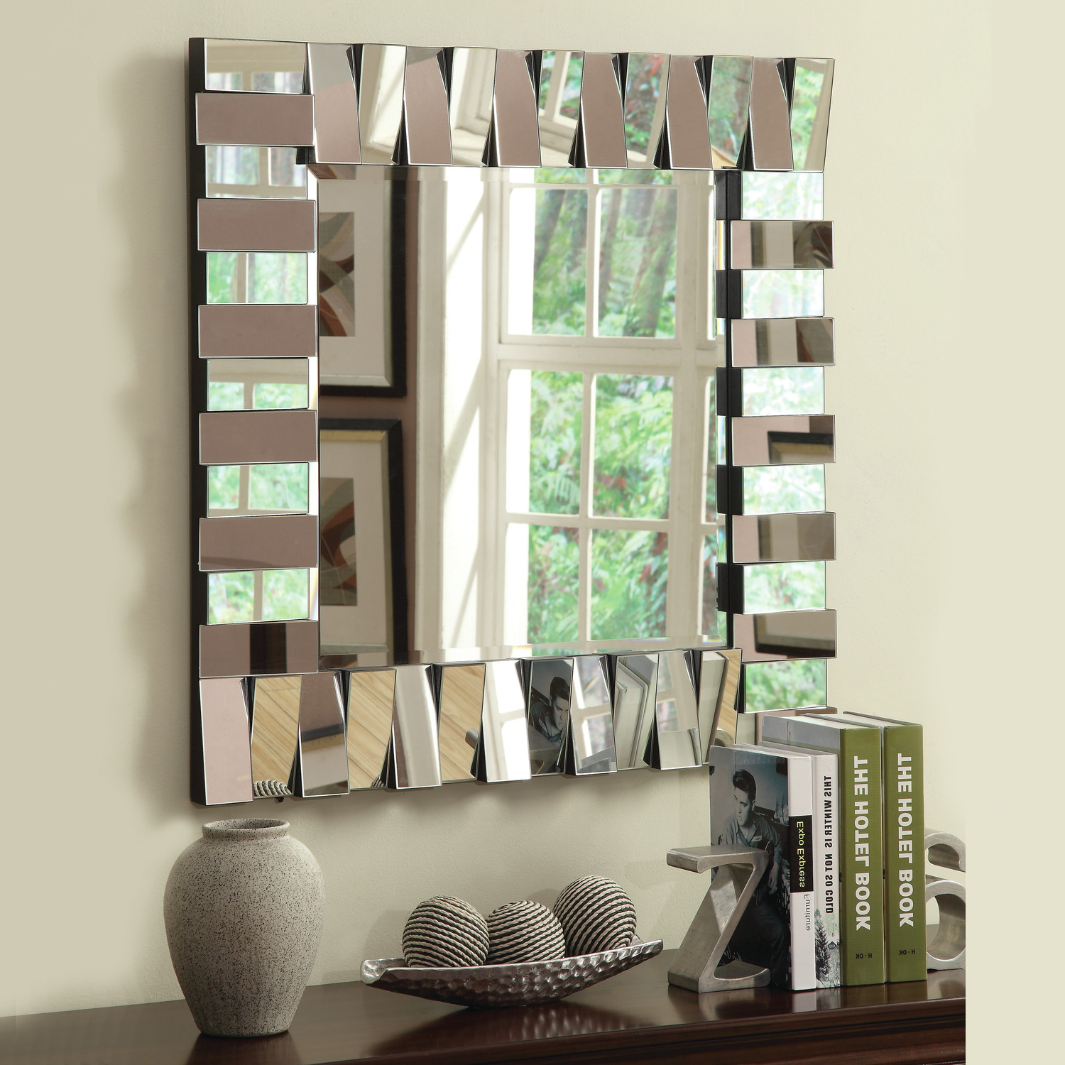 X Large Wall Mirrors Regarding Best And Newest Wildon Home Wall Mirror (View 20 of 20)