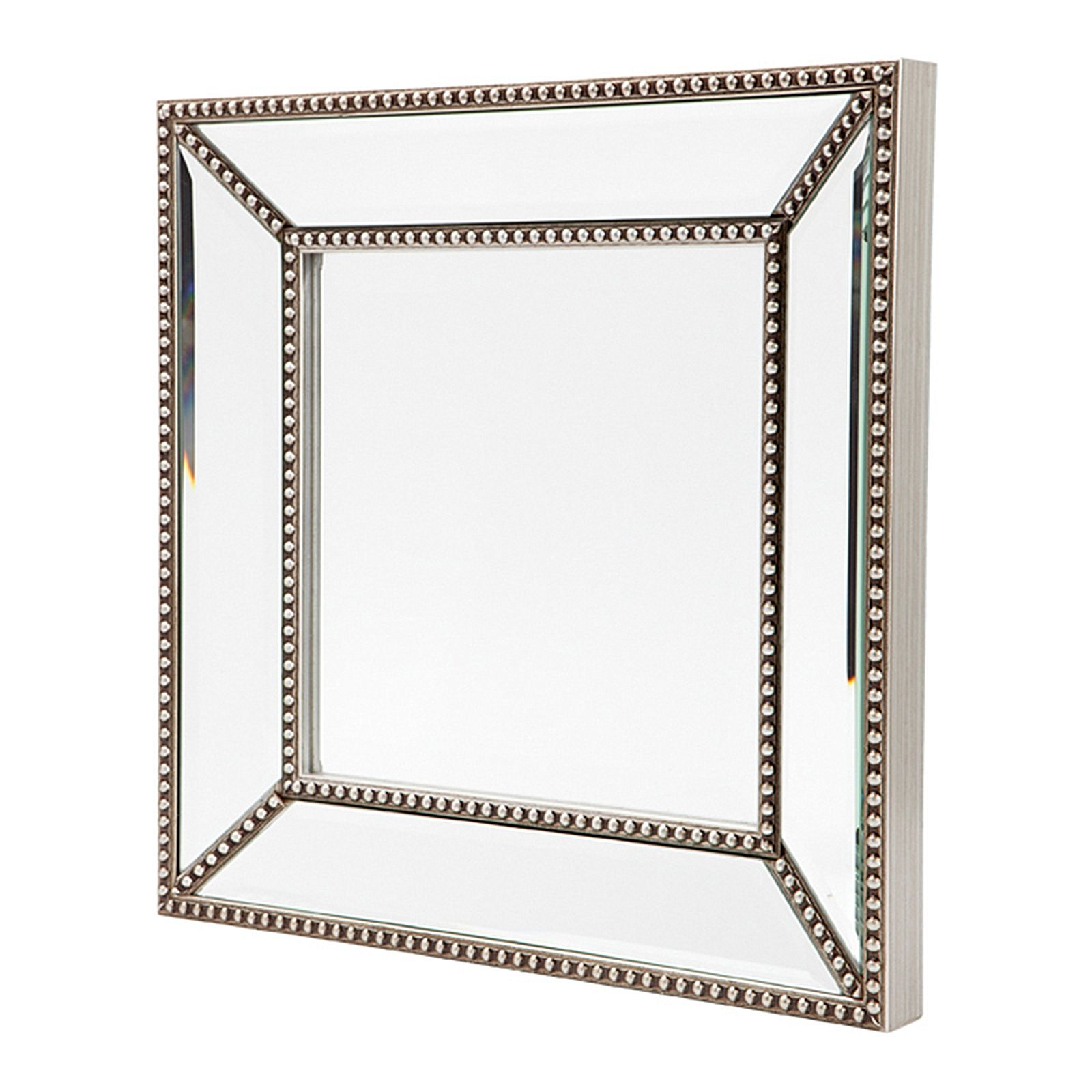 Zeta Wall Mirror, Antique Silver, Small Regarding 2020 Small Antique Wall Mirrors (View 13 of 20)
