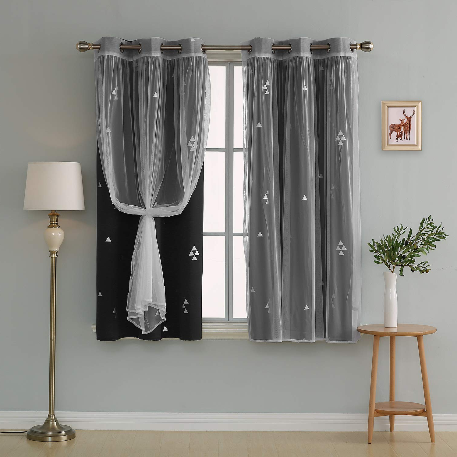 2020 Curtain 4 Top Grommet With Room Living For Curtains Sheer Throughout Mix And Match Blackout Blackout Curtains Panel Sets (View 17 of 20)