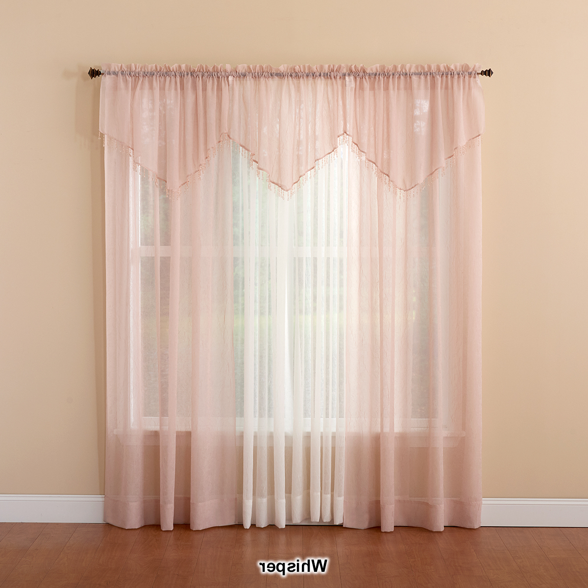 2020 Erica Crushed Voile Curtain Panel For Erica Sheer Crushed Voile Single Curtain Panels (View 20 of 20)