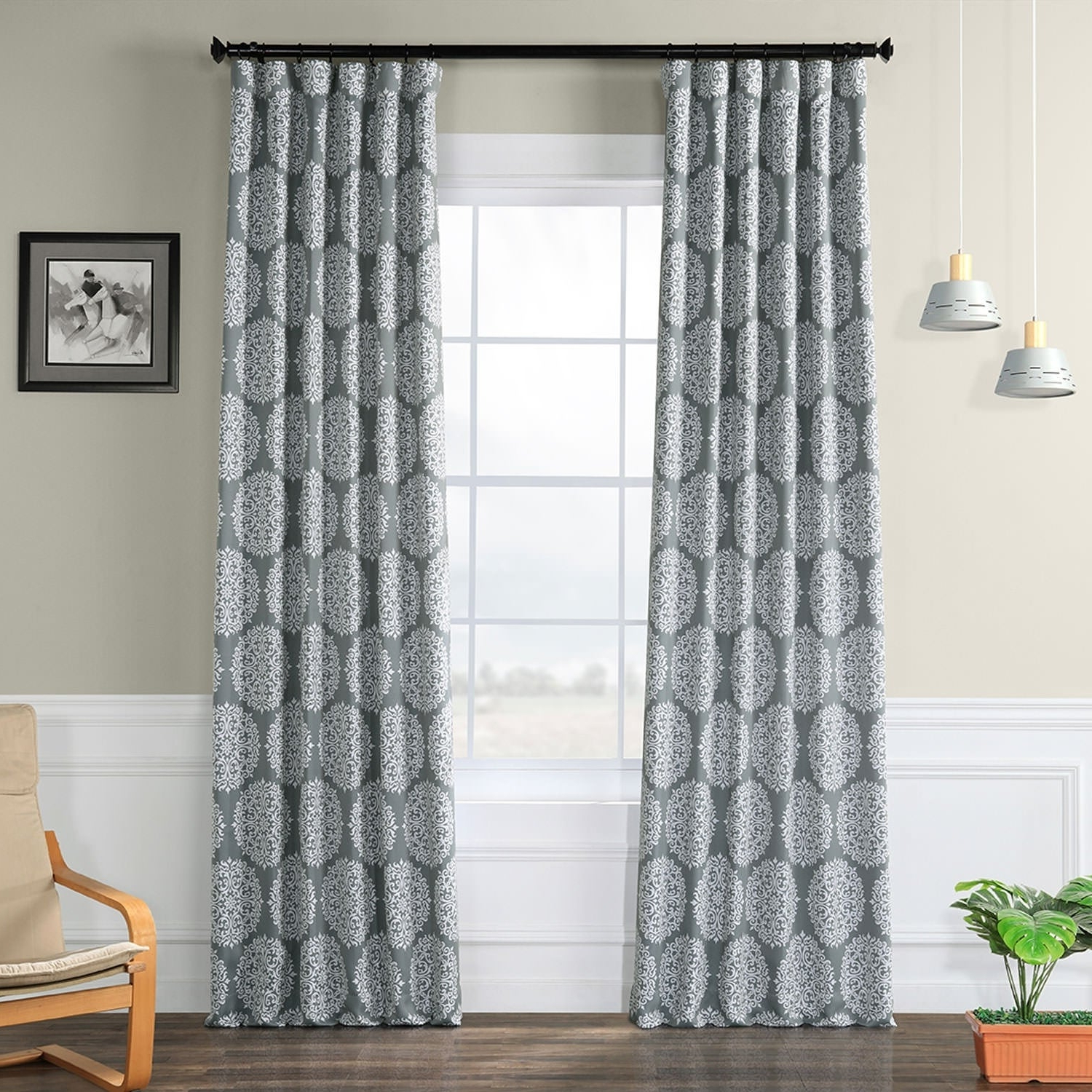 2020 Meridian Blackout Window Curtain Panels Within Exclusive Fabrics Meridian Blackout Curtain Panel Pair (View 16 of 20)
