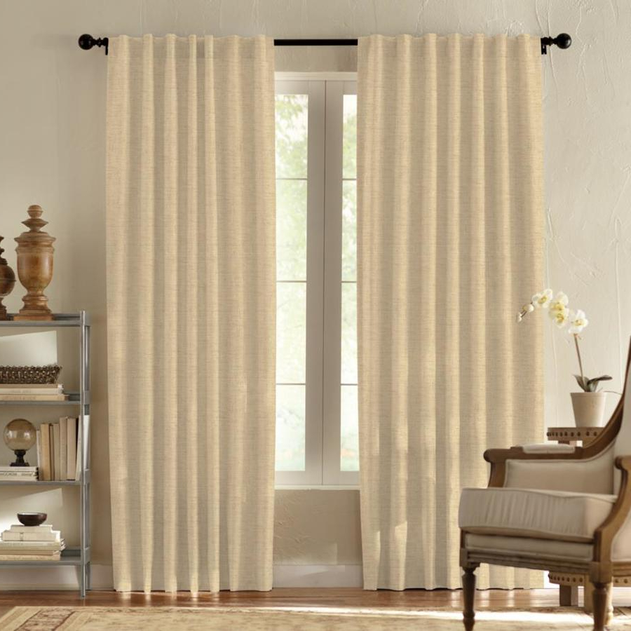 2020 Springmaid Flannery 108 In Wheat Polyester Light Filtering For Single Curtain Panels (View 19 of 20)