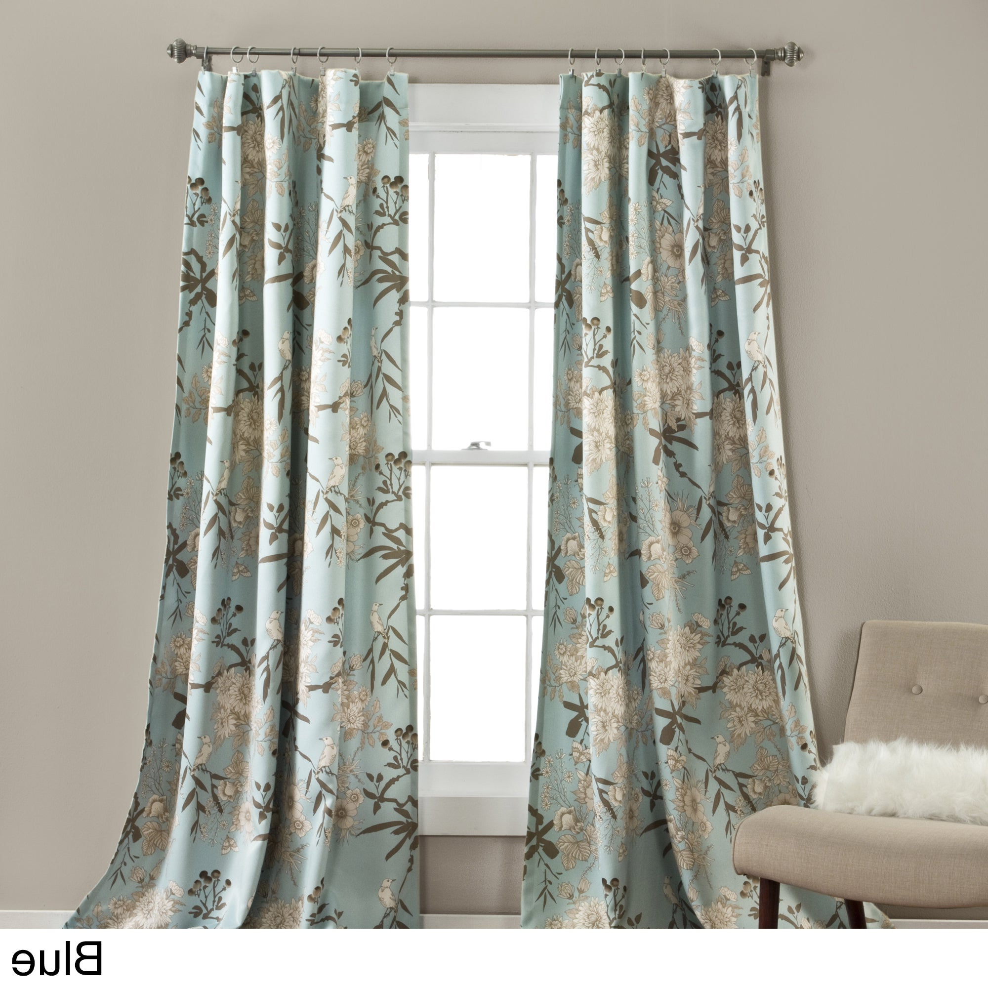 2020 The Gray Barn Dogwood Floral Curtain Panel Pair With Regard To Gray Barn Dogwood Floral Curtain Panel Pairs (View 3 of 20)
