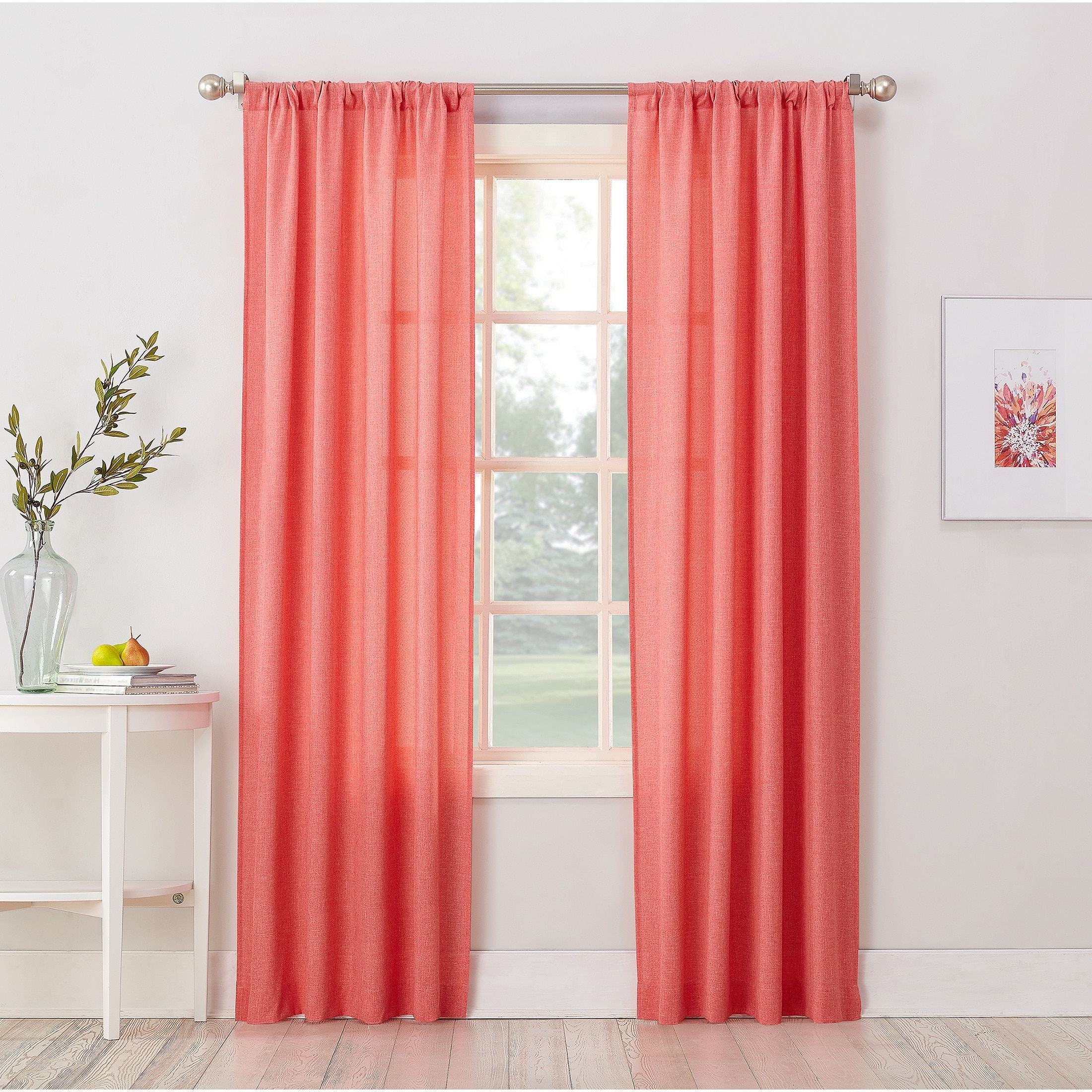 2020 Window Solid Pane Charming Vinyl Panel Pocket Maddie Panels Pertaining To Tuscan Thermal Backed Blackout Curtain Panel Pairs (View 20 of 20)