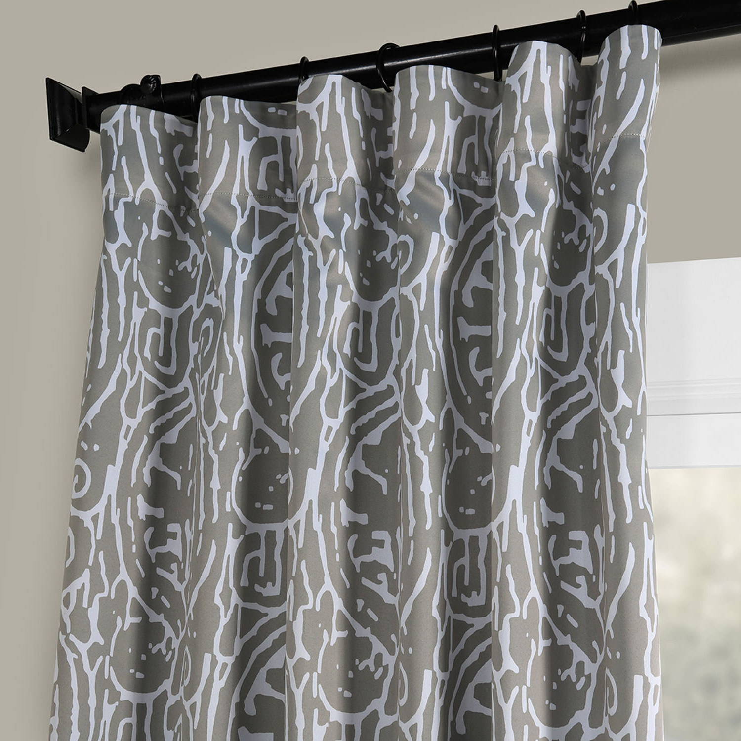 2021 Abstract Blackout Curtain Panel Pairs Throughout Exclusive Fabrics Abstract Blackout Curtain Panel Pair (View 3 of 20)