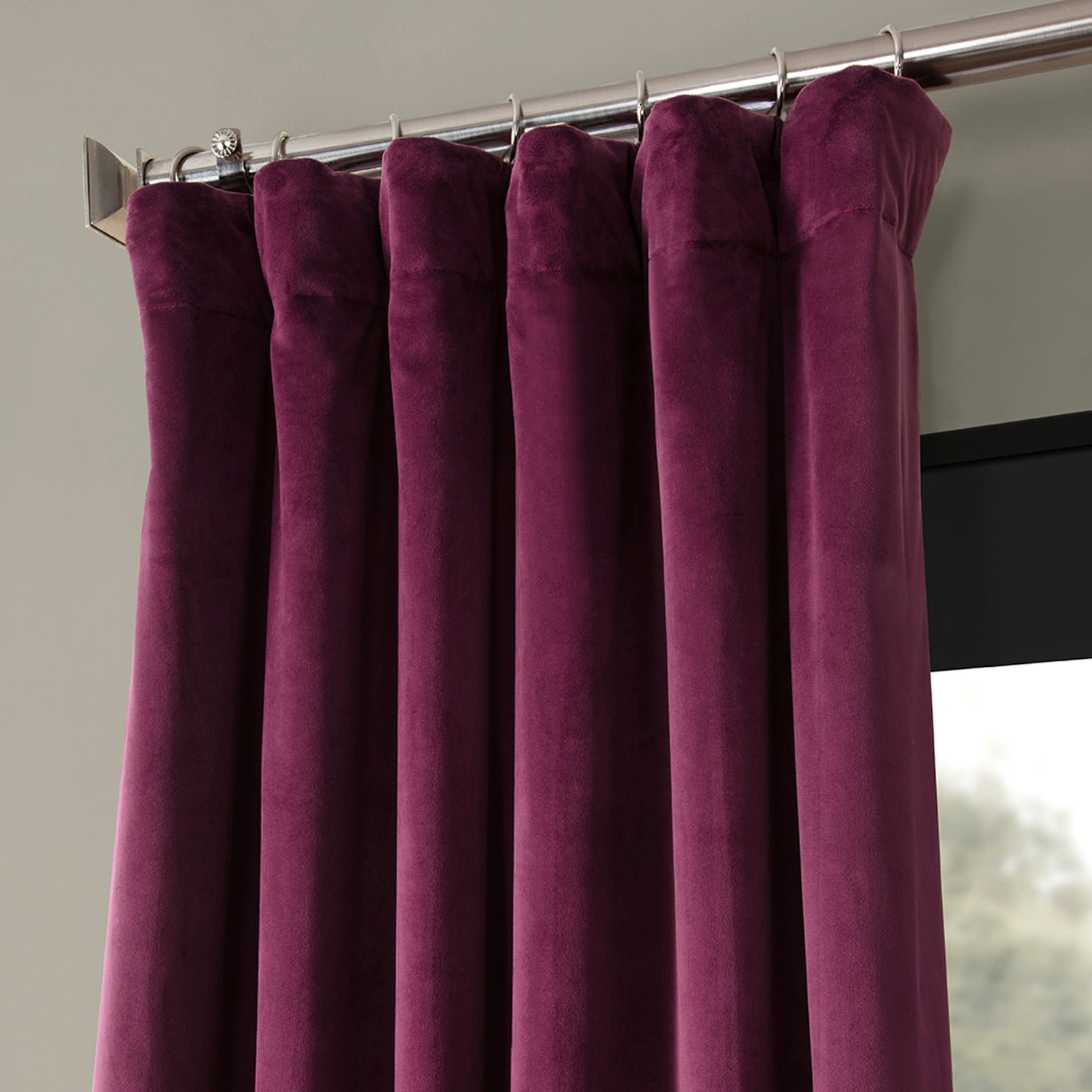 2021 Details About Signature Blackout Velvet Curtains (Sold Per Panel) With Signature Blackout Velvet Curtains (View 2 of 20)