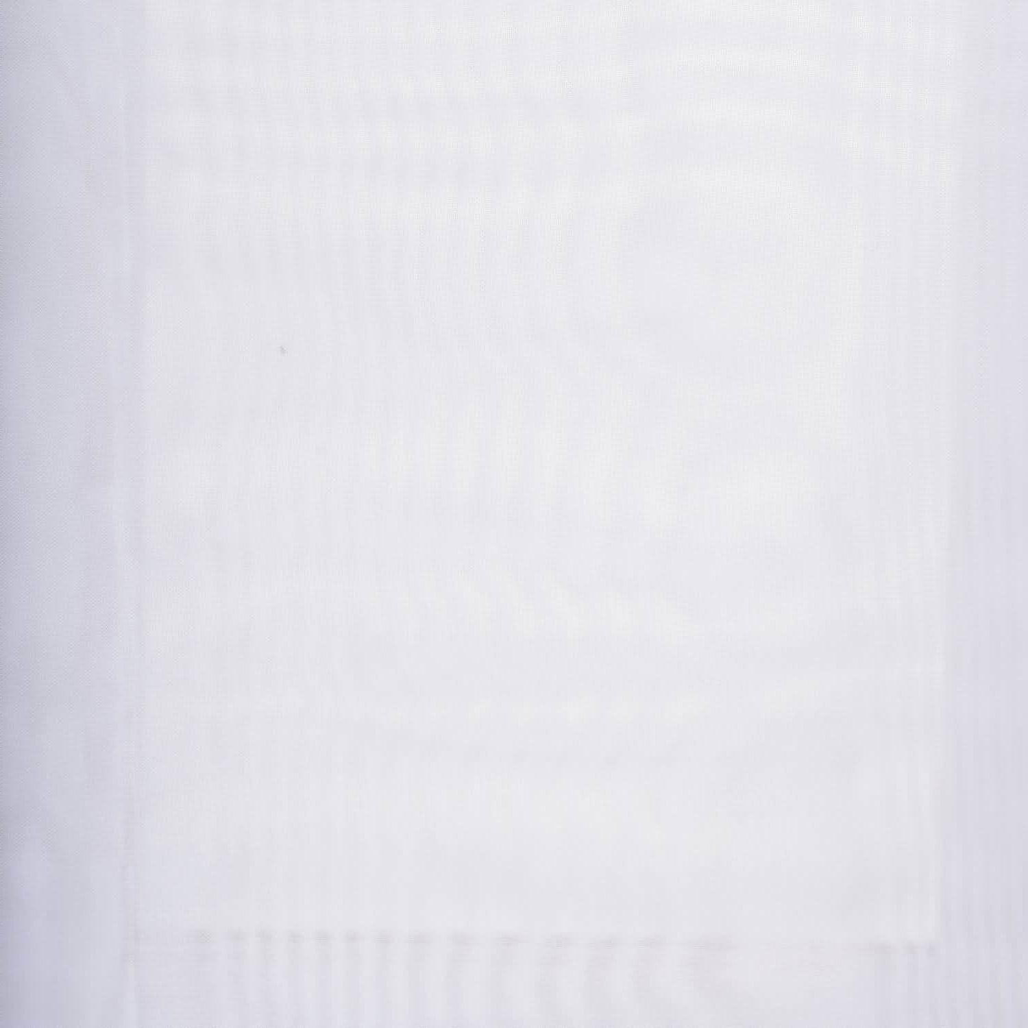 2021 Double Layer Sheer White Single Curtain Panels Throughout Exclusive Fabrics Double Layer Sheer White Single Curtain Panel (View 1 of 20)