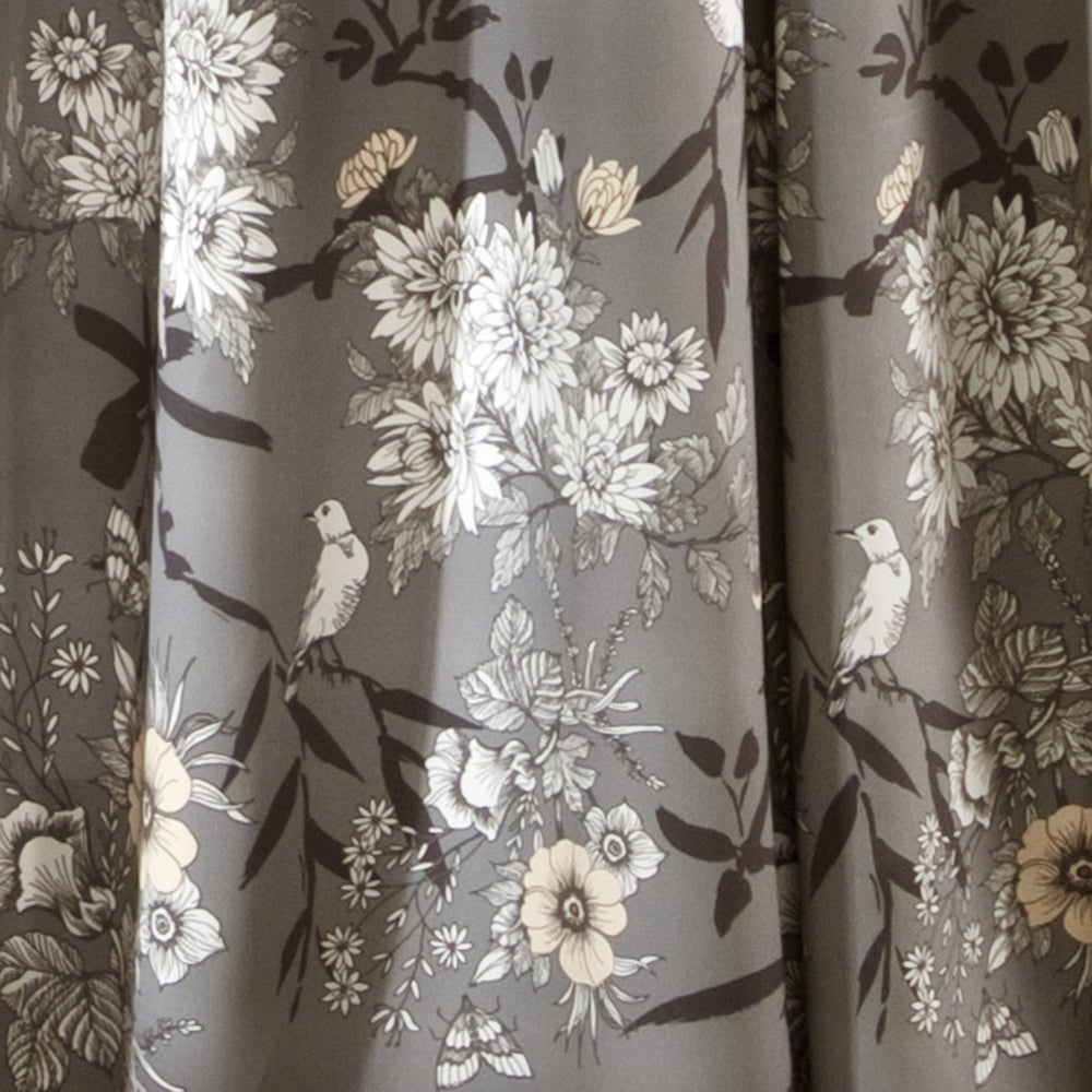 2021 Gray Barn Dogwood Floral Curtain Panel Pairs Regarding The Gray Barn Dogwood Floral Curtain Panel Pair (View 7 of 20)