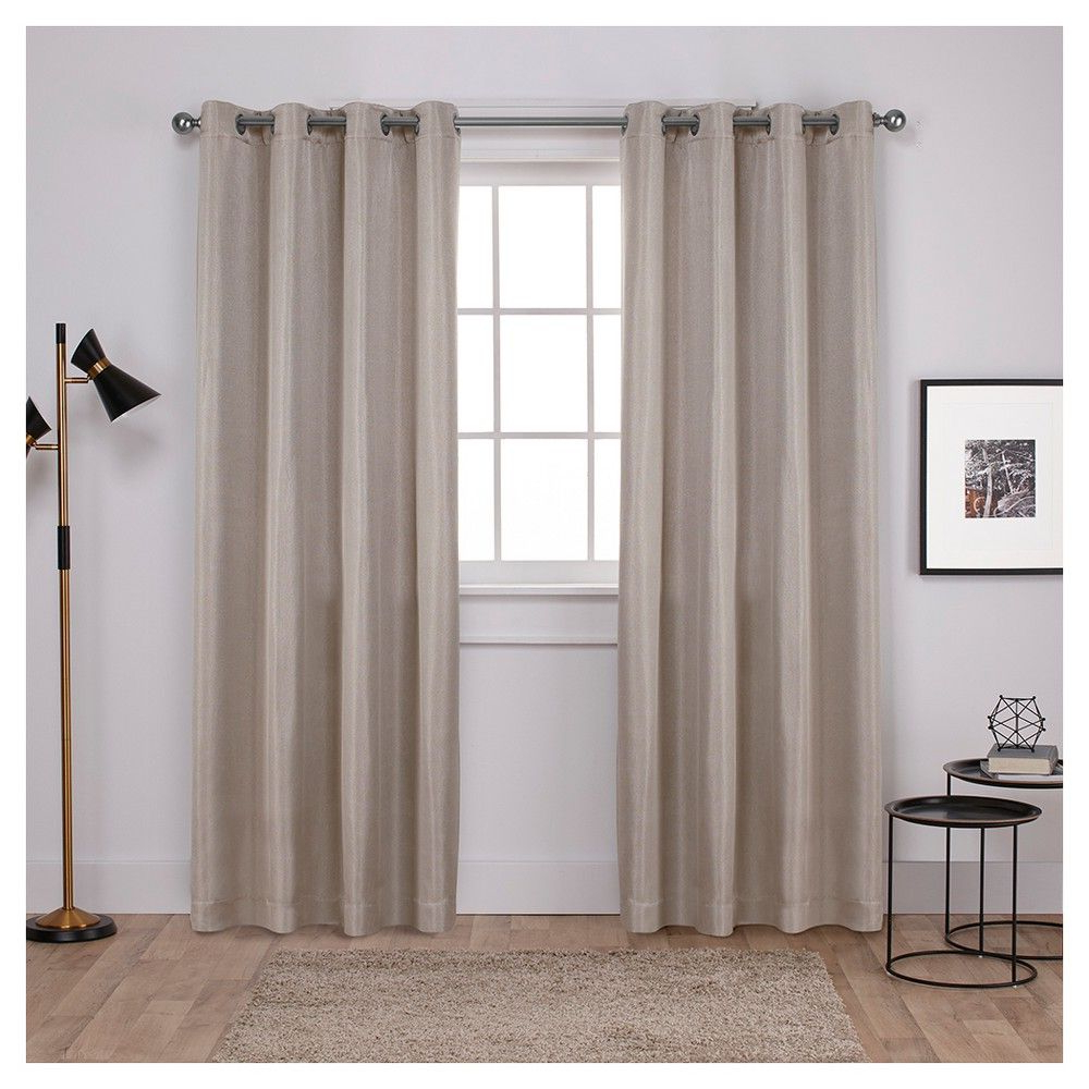 2021 Pin On Products Throughout Sugar Creek Grommet Top Loha Linen Window Curtain Panel Pairs (View 1 of 20)