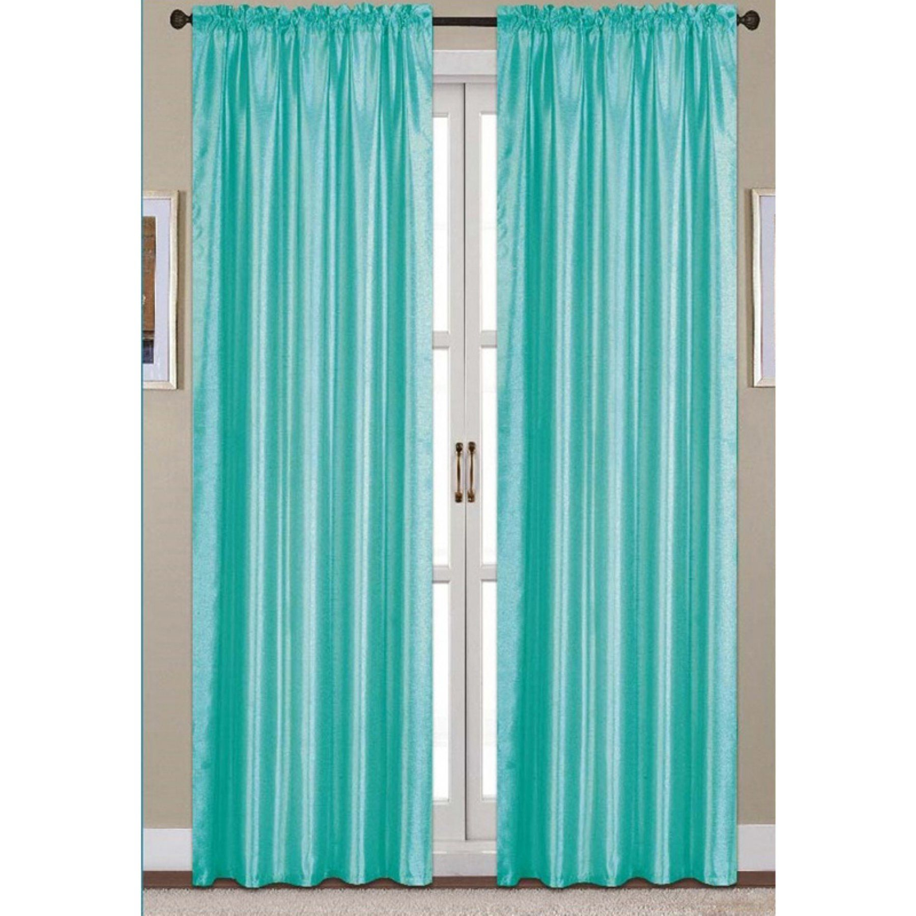 2021 The Curated Nomad Duane Jacquard Grommet Top Curtain Panel Pairs Throughout Rt Designers Collection Nikki Faux Silk Rod Pocket Curtain (View 18 of 21)