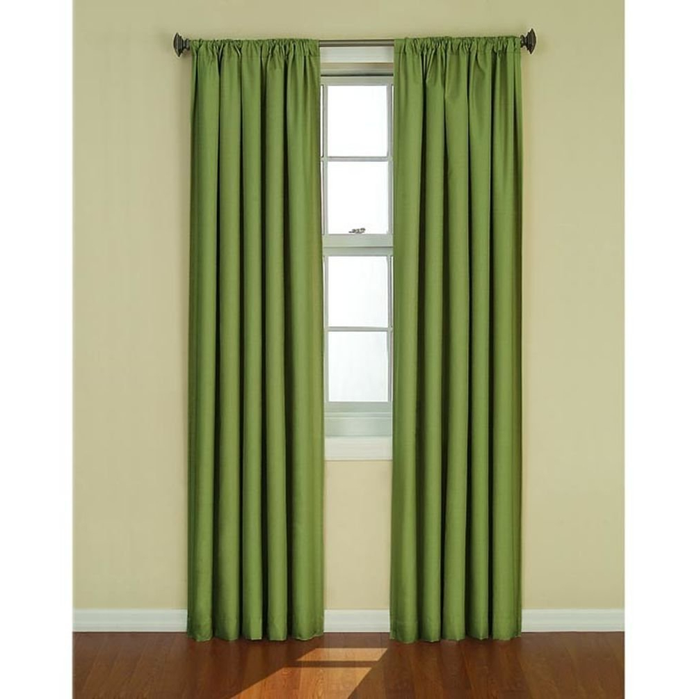 "42"" X 84"" Kendall Blackout Window Curtain Panel – Black Throughout Popular Eclipse Kendall Blackout Window Curtain Panels (View 12 of 20)"