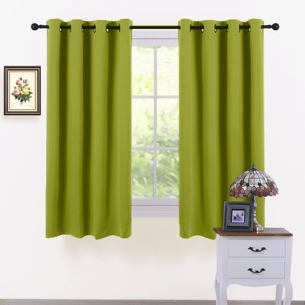 All Seasons Blackout Window Curtains Inside Favorite Pony Dance All Seasons Blackout Curtains Set Grommet Top Curtain Drapes  Heavy Duty Window Draperies Light Blocking Noise Reducing Thermal Insulated (View 7 of 20)