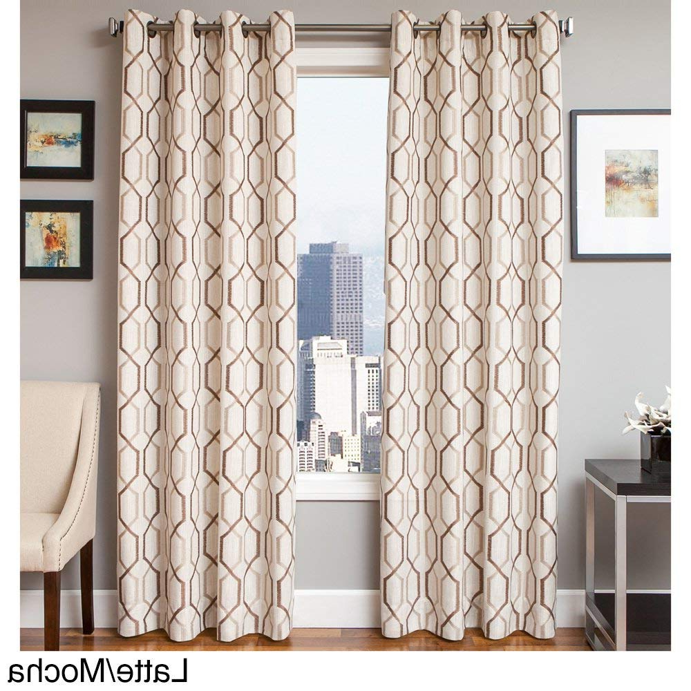 Amazon: Softline Maxwell Lined Grommet Top Curtain Panel In Widely Used Softline Trenton Grommet Top Curtain Panels (View 5 of 20)