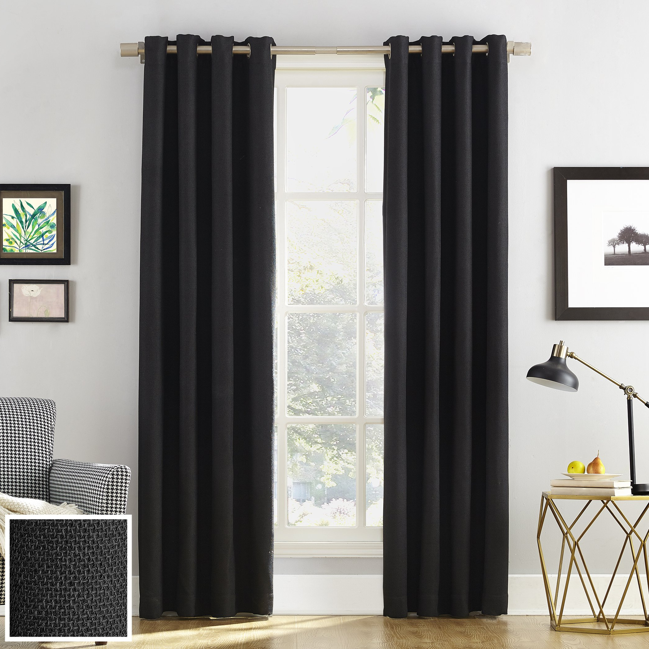 [%amazon: Sun Zero™: 100% Blackout For Most Recently Released Cyrus Thermal Blackout Back Tab Curtain Panels|cyrus Thermal Blackout Back Tab Curtain Panels Pertaining To Well Known Amazon: Sun Zero™: 100% Blackout|popular Cyrus Thermal Blackout Back Tab Curtain Panels With Regard To Amazon: Sun Zero™: 100% Blackout|popular Amazon: Sun Zero™: 100% Blackout Inside Cyrus Thermal Blackout Back Tab Curtain Panels%] (View 15 of 20)