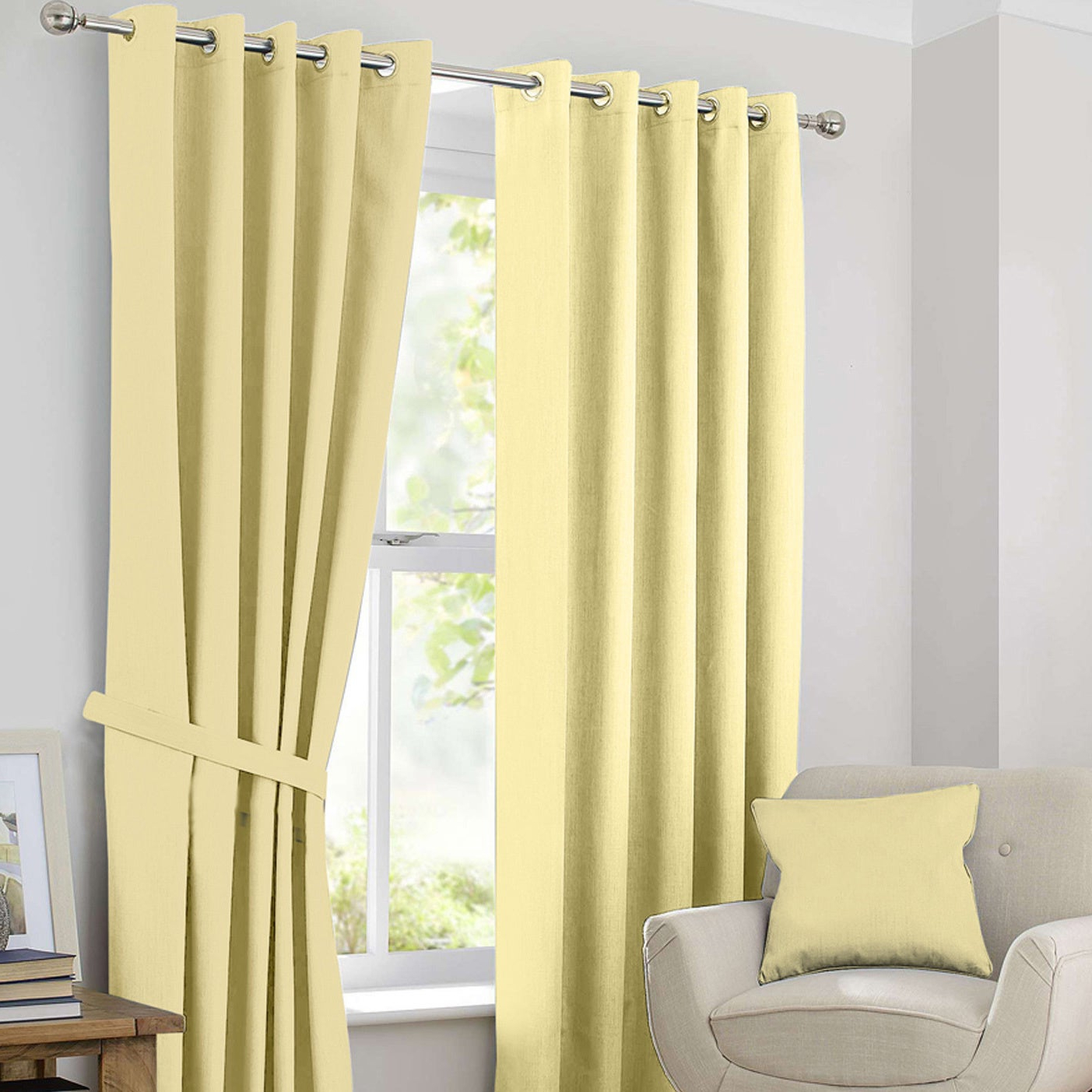 Ample Decor Blackout Curtain Panel Pair Pertaining To Well Known Tuscan Thermal Backed Blackout Curtain Panel Pairs (View 5 of 20)