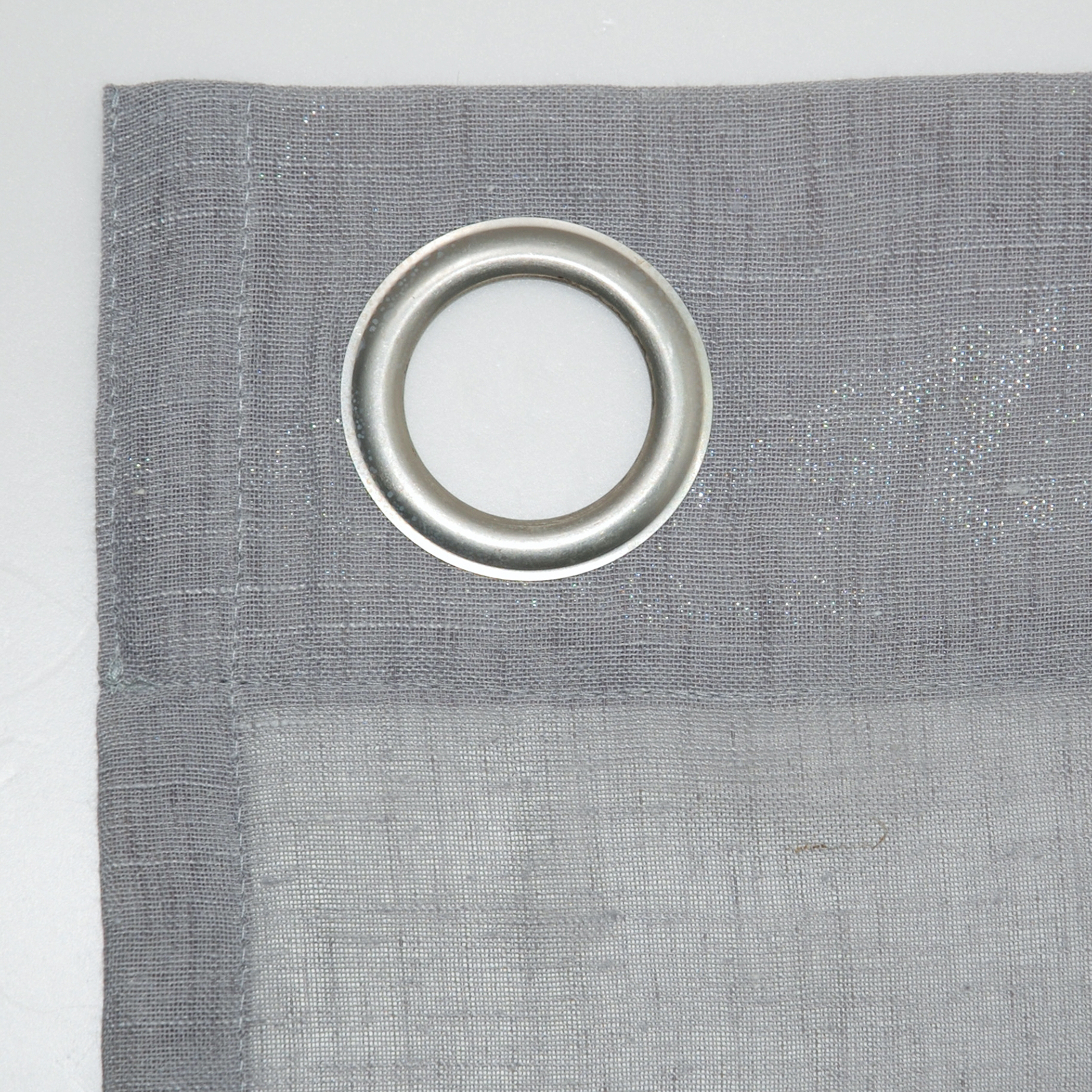 Archaeo Slub Textured Linen Blend Grommet Top Curtains In Most Up To Date Archaeo Slub Textured Linen Blend Grommet Top Curtain (View 8 of 20)