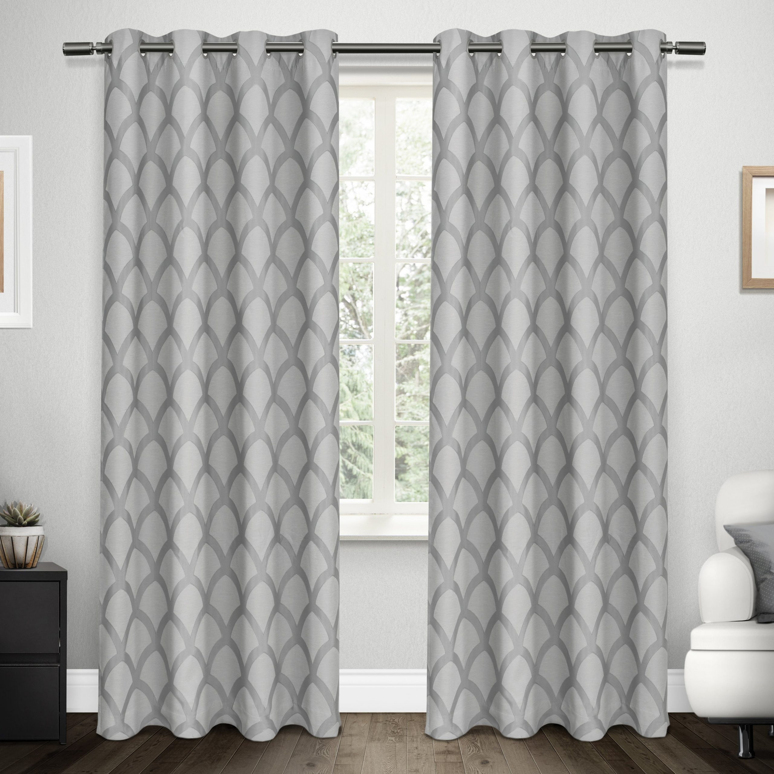 Ati Home Electra Thermal Woven Blackout Grommet Top Curtain Panel Pair Inside Widely Used Easton Thermal Woven Blackout Grommet Top Curtain Panel Pairs (View 4 of 20)