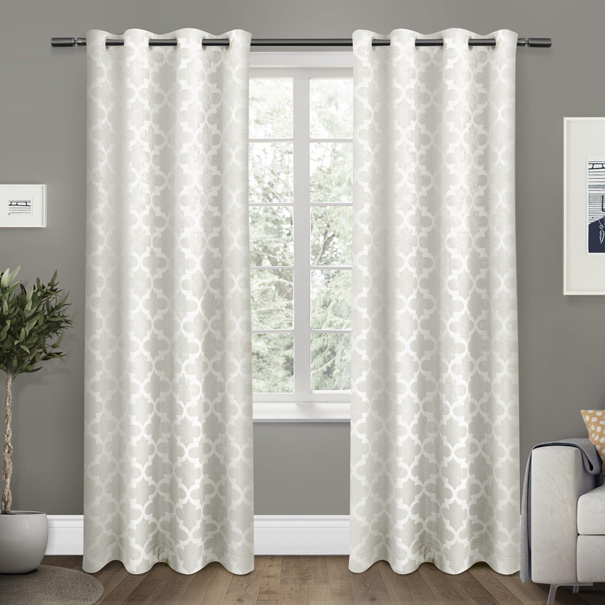 Ati Home Woven Blackout Curtain Panel Pair With Grommet Top With Famous Woven Blackout Curtain Panel Pairs With Grommet Top (View 13 of 20)