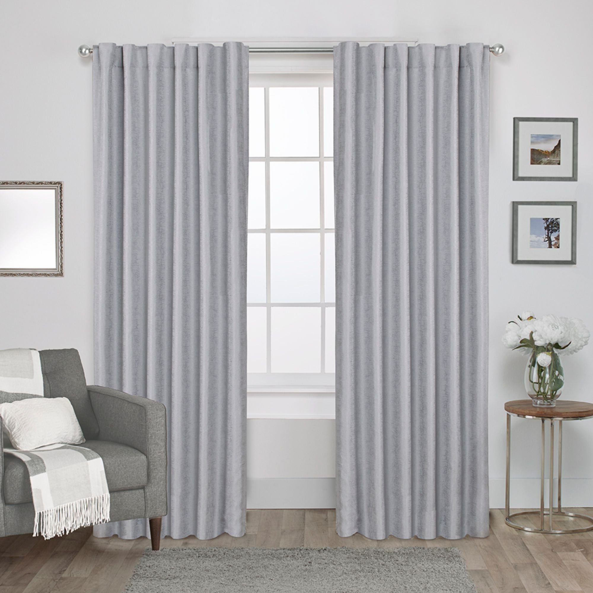 Ati Home Zeus Thermal Woven Blackout Back Tab Top Curtain Panel Pair In Popular Cyrus Thermal Blackout Back Tab Curtain Panels (View 6 of 20)