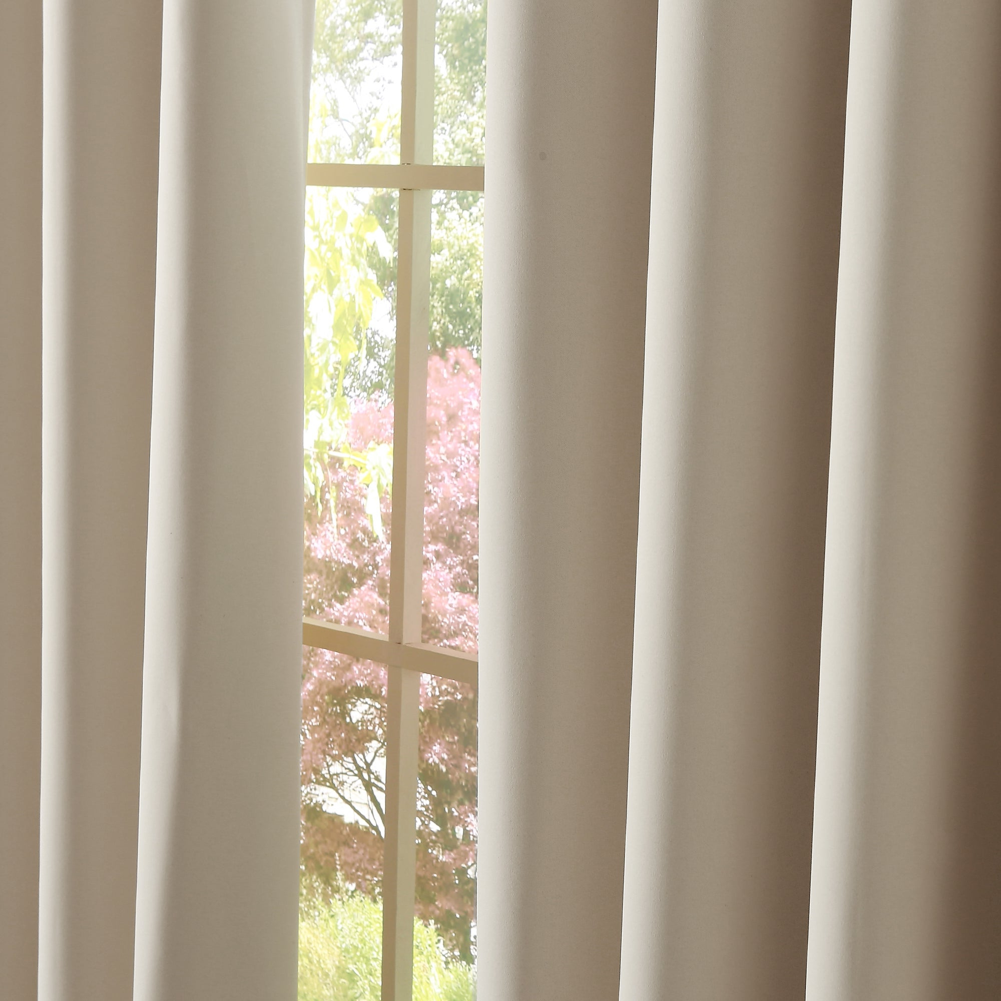 Aurora Home Silvertone Grommet Thermal Insulated Blackout Curtain Panel Pair In 2021 Silvertone Grommet Thermal Insulated Blackout Curtain Panel Pairs (View 12 of 20)