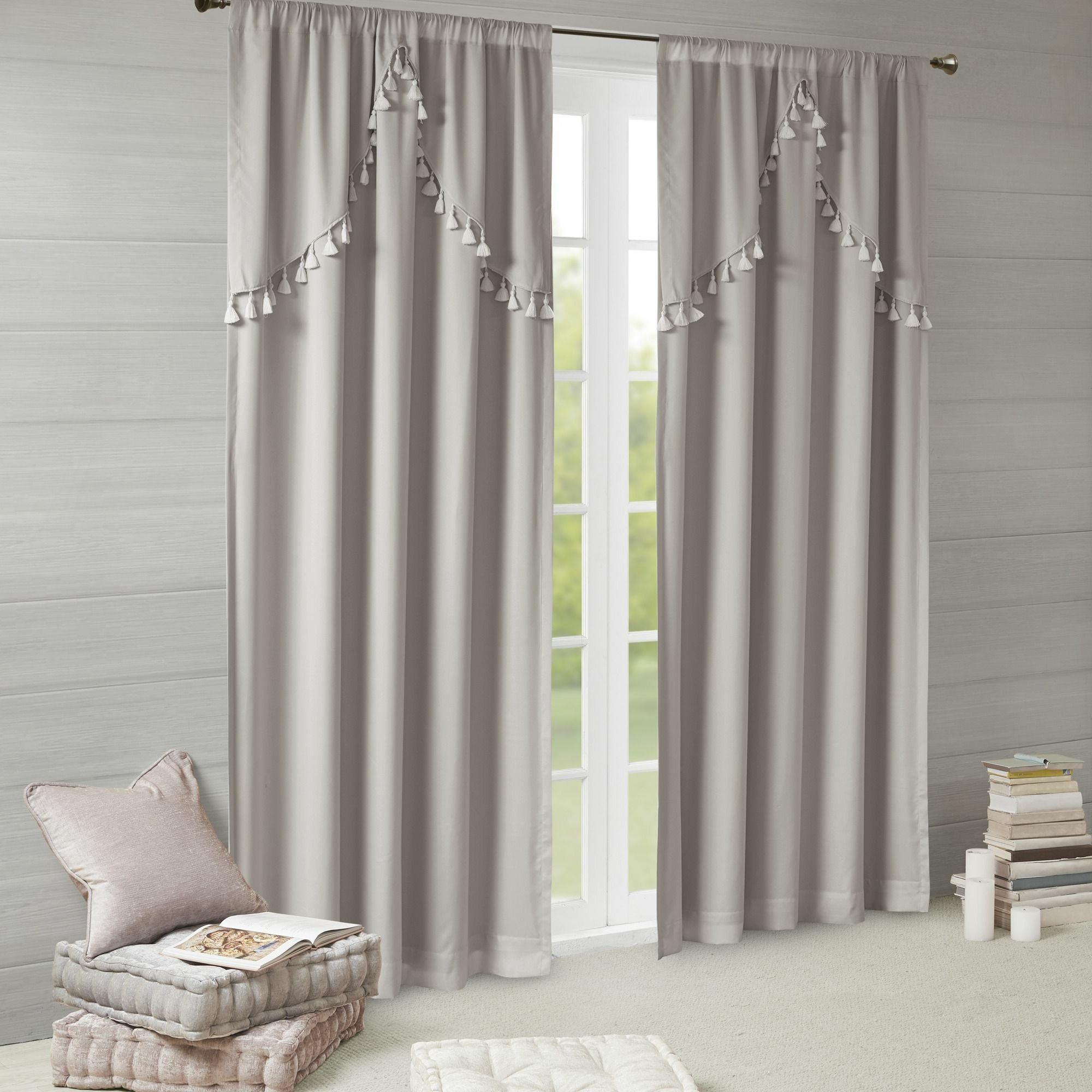 Barclay Solid Blackout Rod Pocket Single Curtain Panel Regarding Most Recent Single Curtain Panels (View 9 of 20)