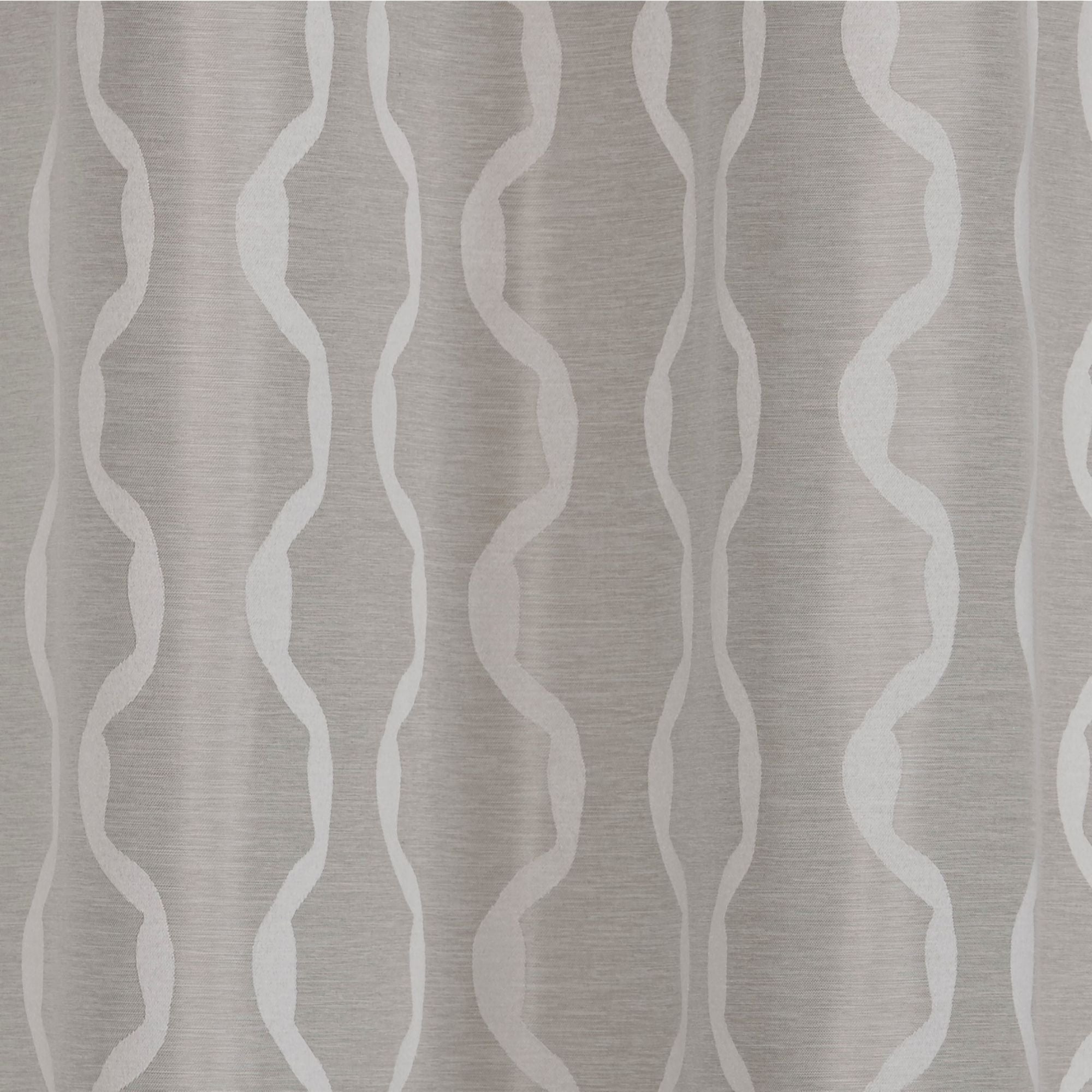 Baroque Linen Grommet Top Curtain Panel Pairs Throughout Most Popular Ati Home Baroque Linen Grommet Top Curtain Panel Pair (View 9 of 20)