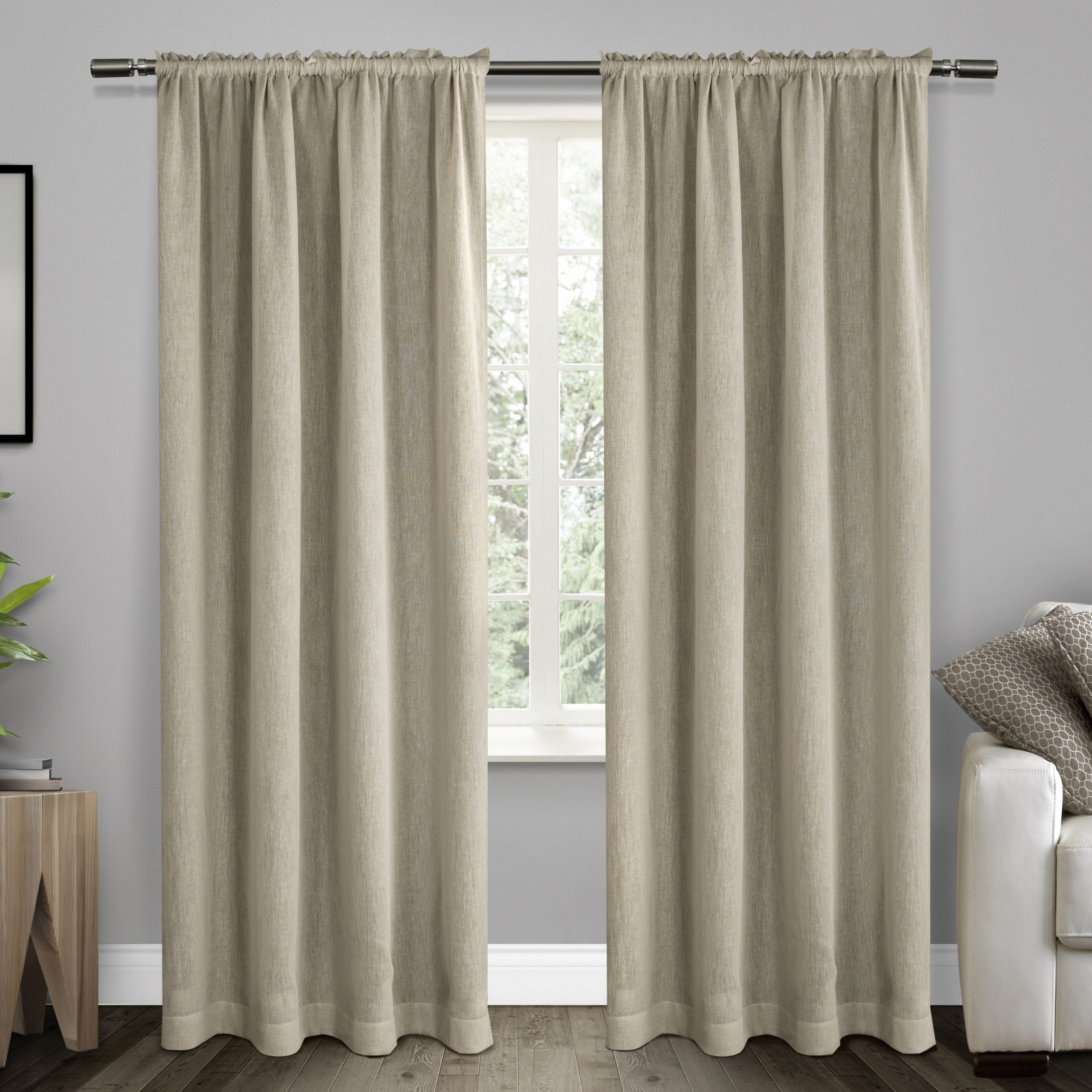 Belgian Sheer Window Curtain Panel Pairs With Rod Pocket Throughout Best And Newest Ati Home Belgian Sheer Window Curtain Panel Pair With Rod Pocket (View 2 of 20)