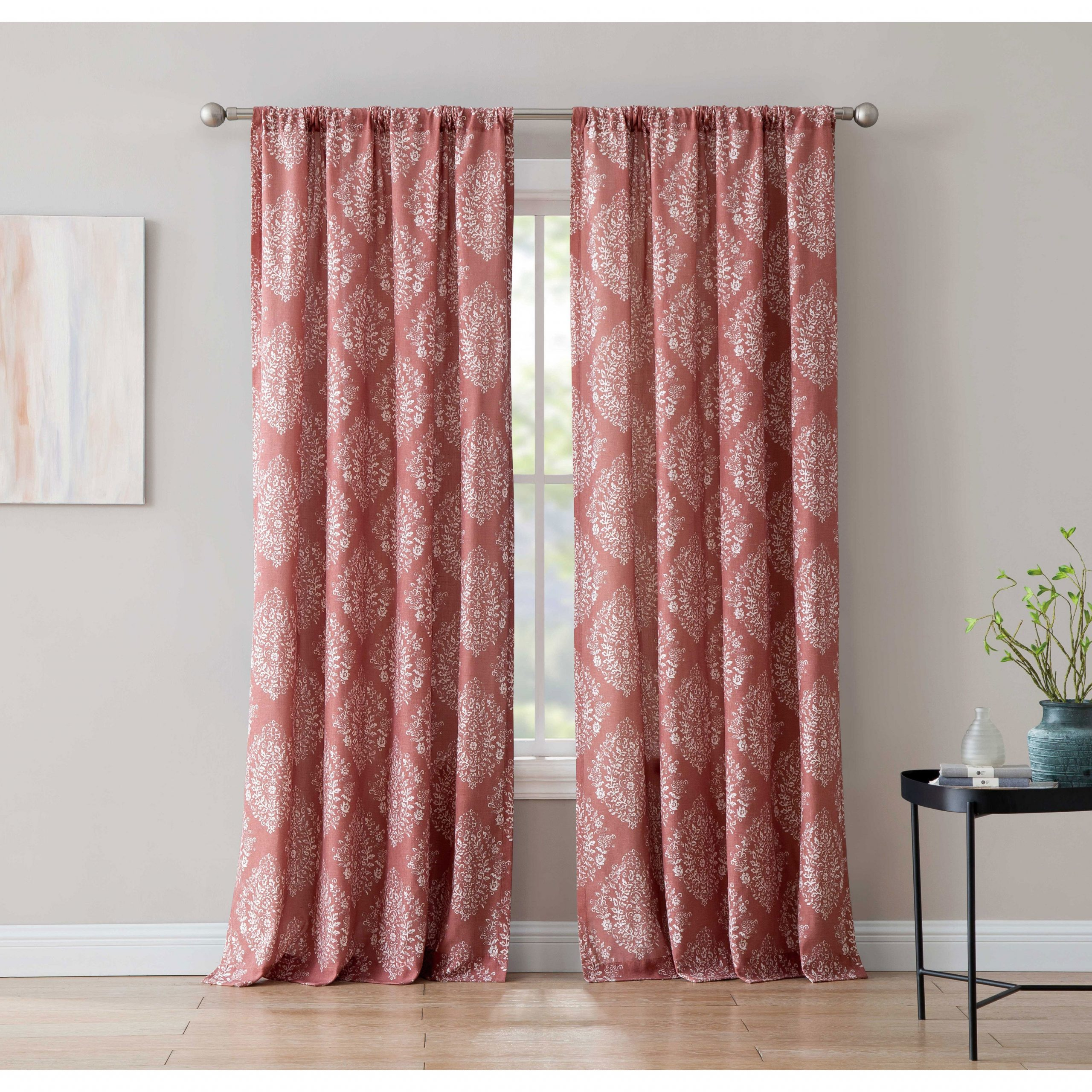 Best And Newest Alma 84 Inch Window Curtain With Rod Pocket Single Panel, Inspired Surroundings1888 Mills For Willow Rod Pocket Window Curtain Panels (View 19 of 20)