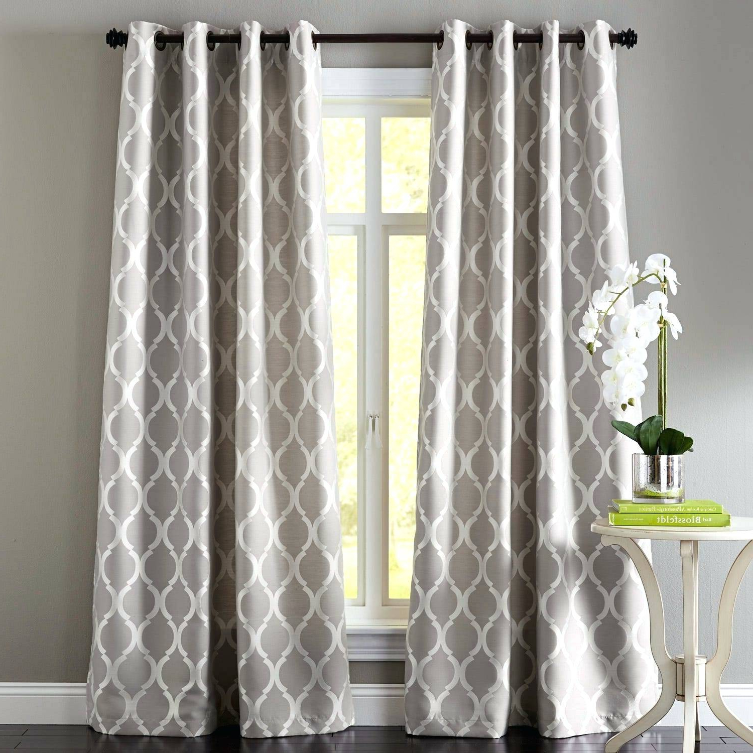 Best And Newest Copper Grove Speedwell Grommet Window Curtain Panels Intended For Gray Grommet Curtains – Crafttea (View 1 of 20)