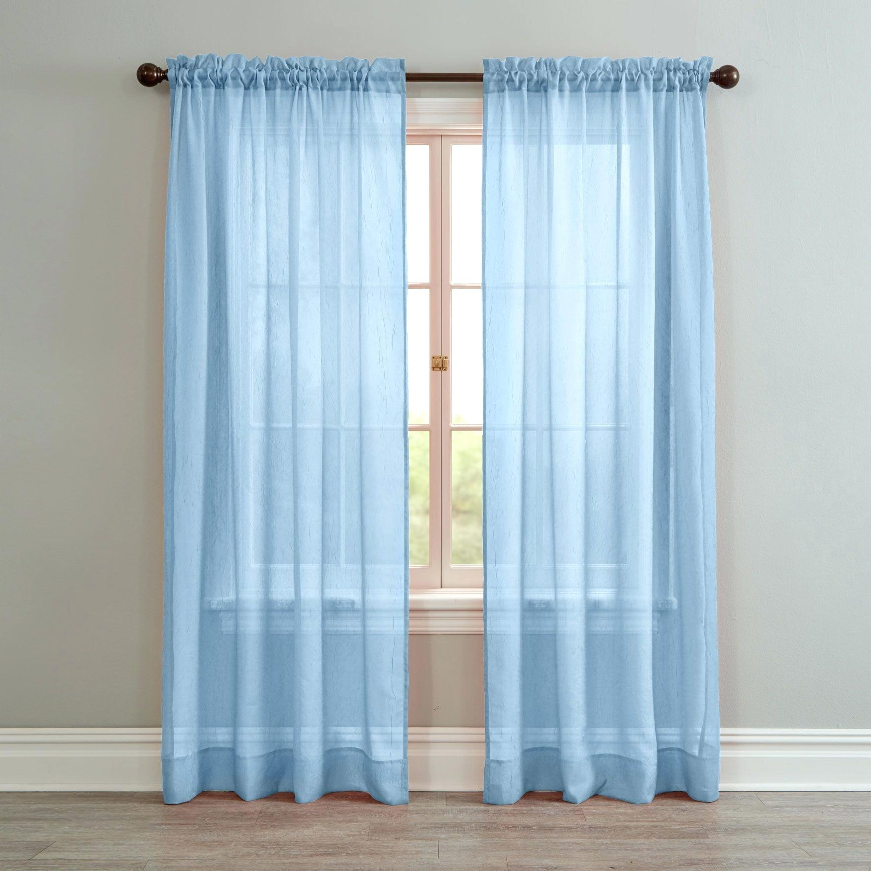 Best And Newest Crushed Voile Curtains – Tehzeeb (View 19 of 20)
