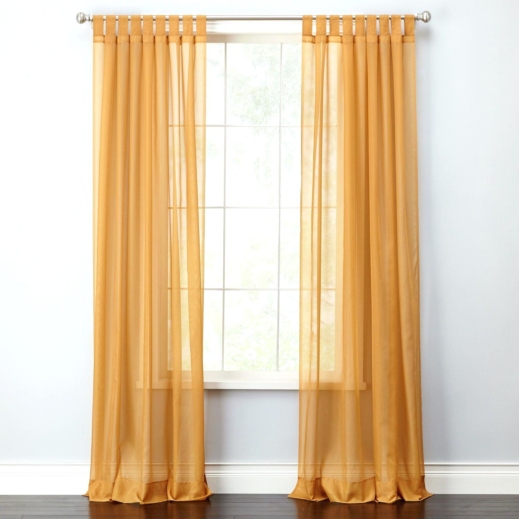 Best And Newest Elowen White Twist Tab Voile Sheer Curtain Panel Pairs Within Voile Tab Top Curtains – Donnadesigns (View 18 of 20)