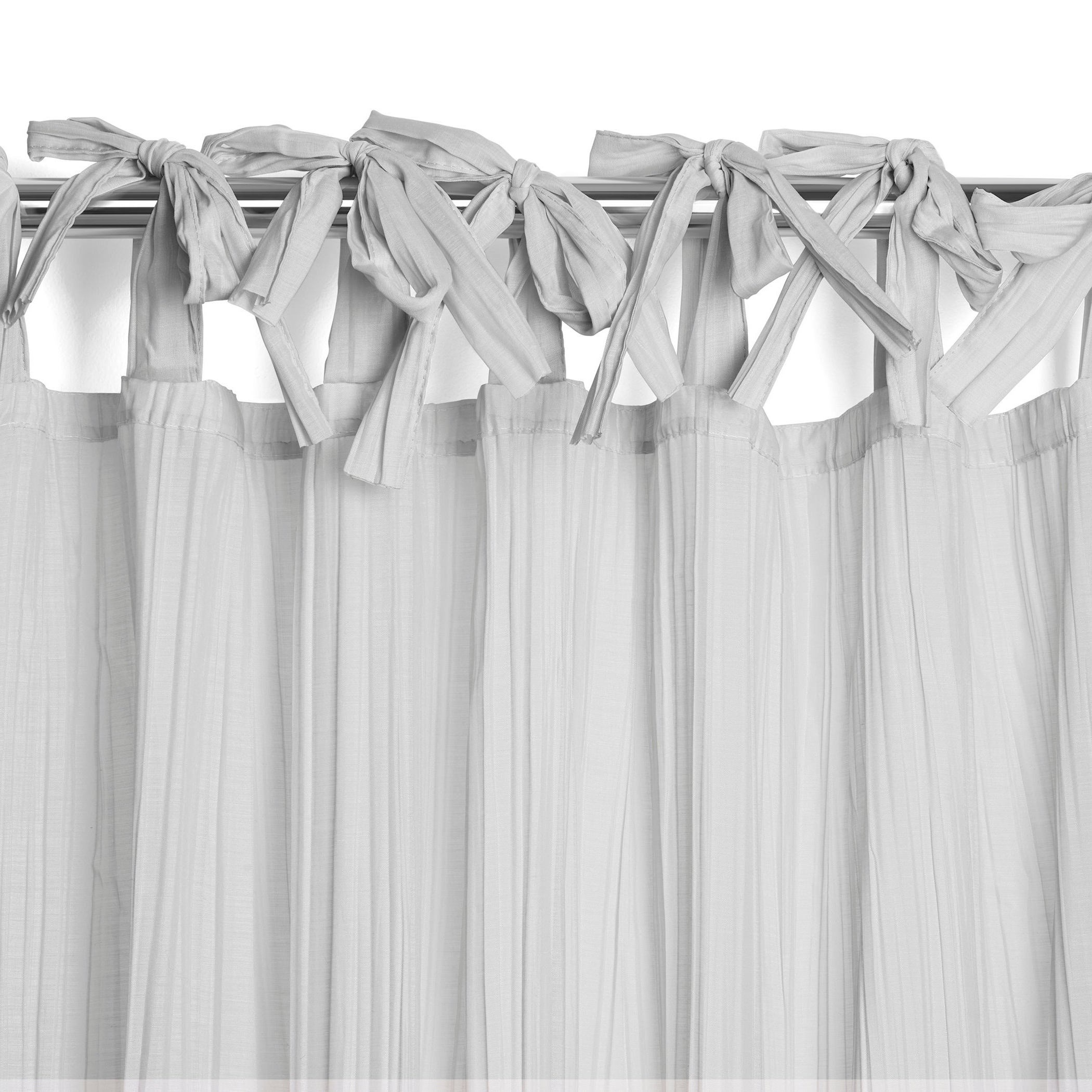 Best And Newest Elrene Jolie Tie Top Curtain Panel Intended For Elrene Jolie Tie Top Curtain Panels (View 6 of 20)