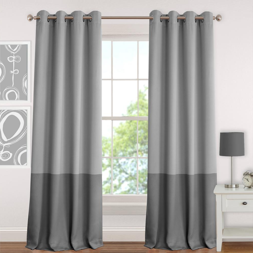 Best And Newest Elrene Mia Jacquard Blackout Curtain Panels In Elrene Madeline Blackout Kids Window Curtain (View 17 of 20)