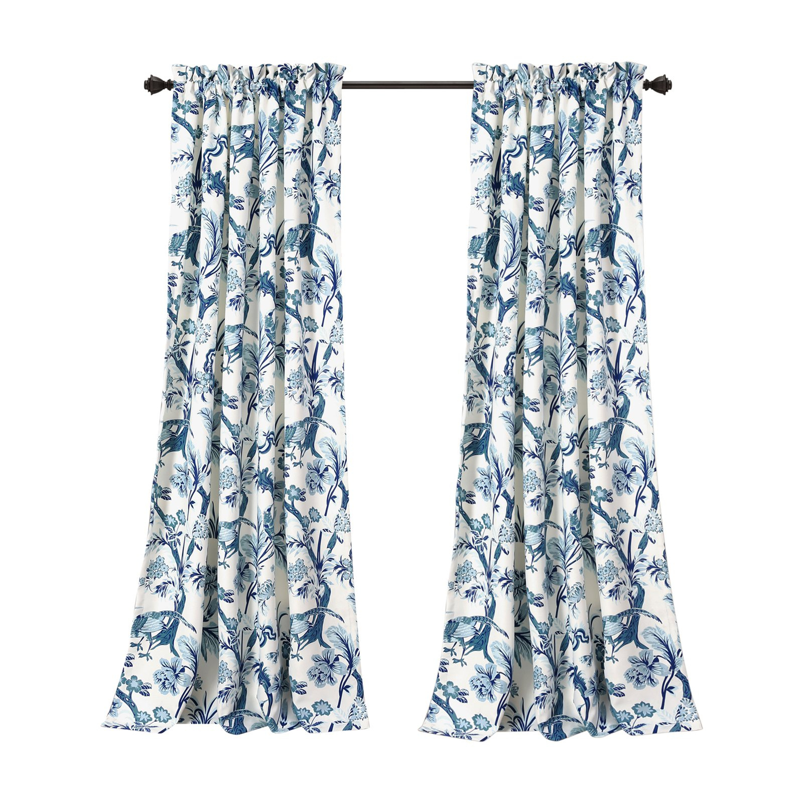 Best And Newest Lush Decor Dolores Room Darkening Curtain Panel Pair In 2019 With Regard To Dolores Room Darkening Floral Curtain Panel Pairs (View 13 of 20)