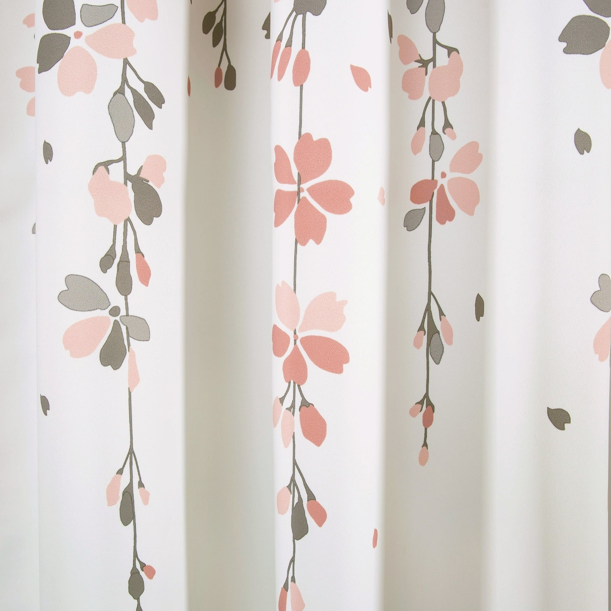 Best And Newest Lush Decor Weeping Flowers Room Darkening Curtain Panel Pair Intended For Weeping Flowers Room Darkening Curtain Panel Pairs (View 7 of 20)