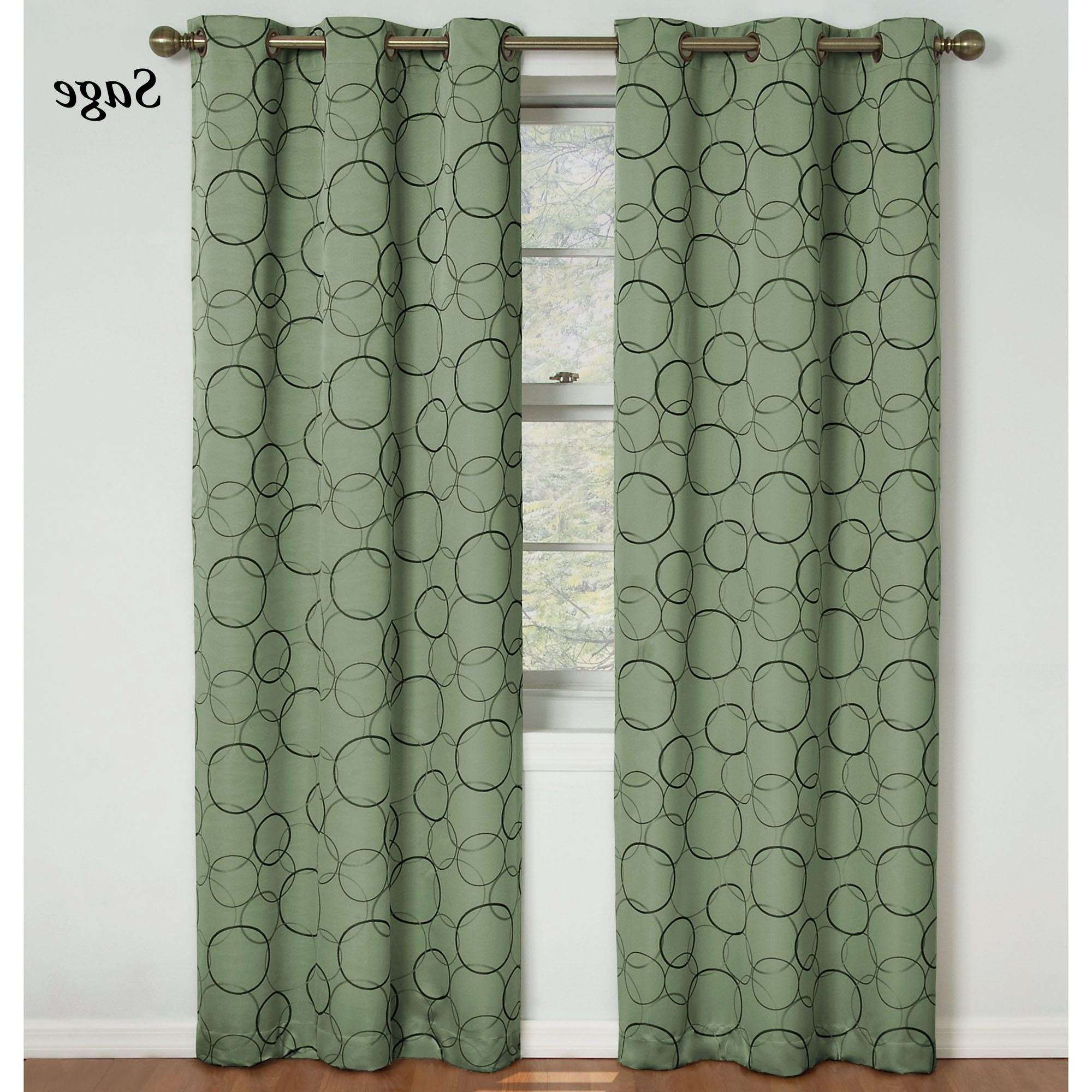 Best And Newest Meridian Blackout Window Curtain Panels With Meridian Thermaback(tm) Blackout Grommet Curtain Panel (View 9 of 20)