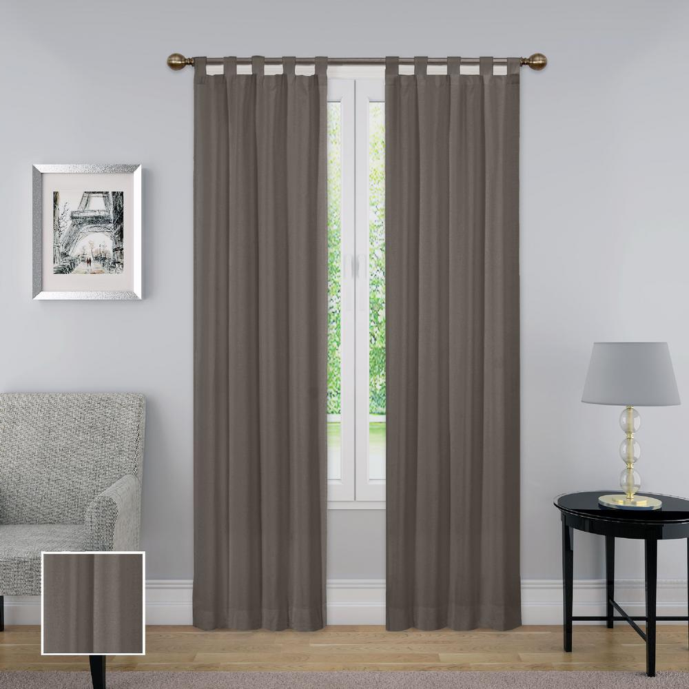 Best And Newest Pairs To Go Montana Window Curtain Panel Pair In Grey – 60 In. W X 95 In (View 15 of 20)