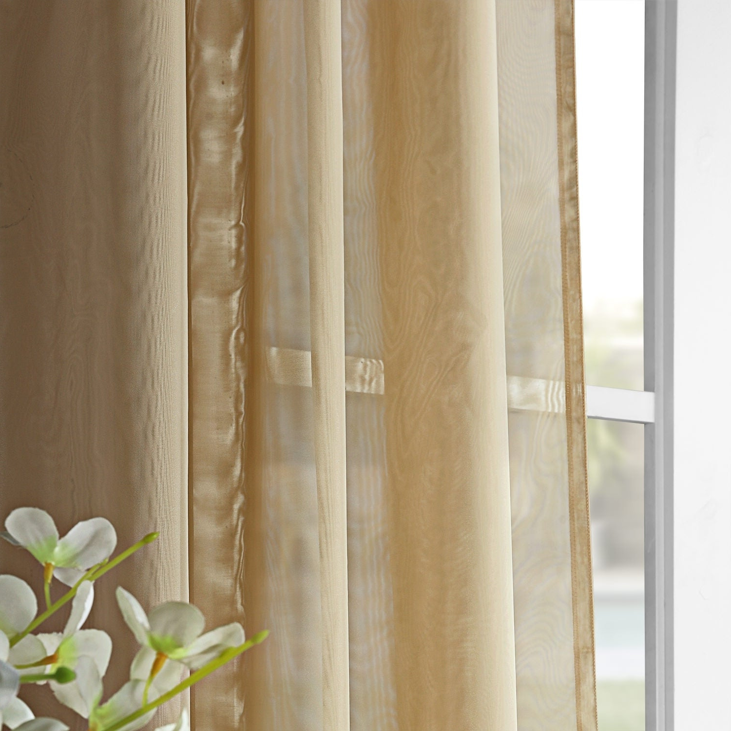 Best And Newest Signature Extrawide Double Layer Sheer Curtain Panels Regarding Exclusive Fabrics Signature Extrawide Double Layer Sheer Curtain Panel (View 13 of 20)