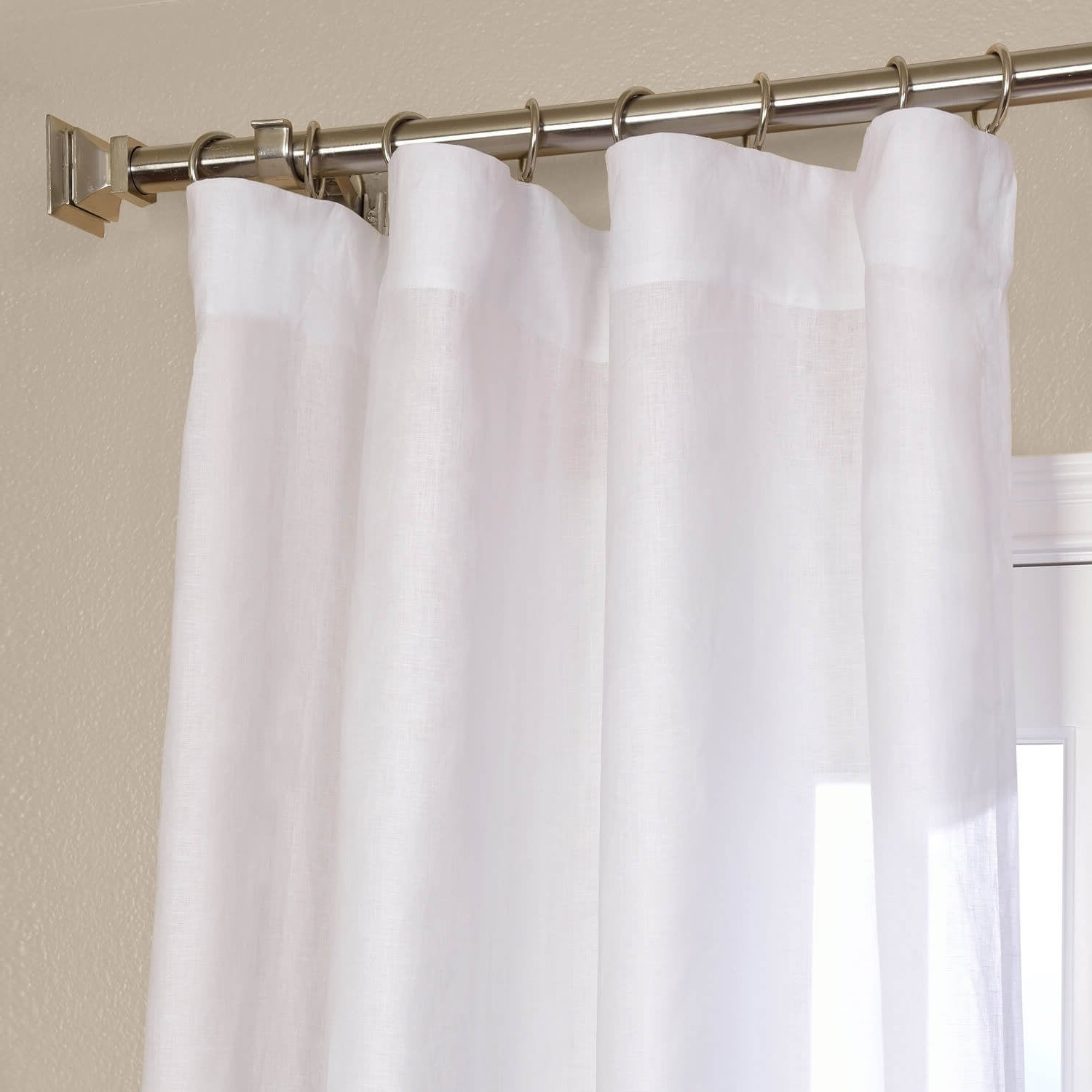 Best And Newest Signature French Linen Curtain Panels With Exclusive Fabrics Signature French Linen Curtain Panel (View 3 of 20)