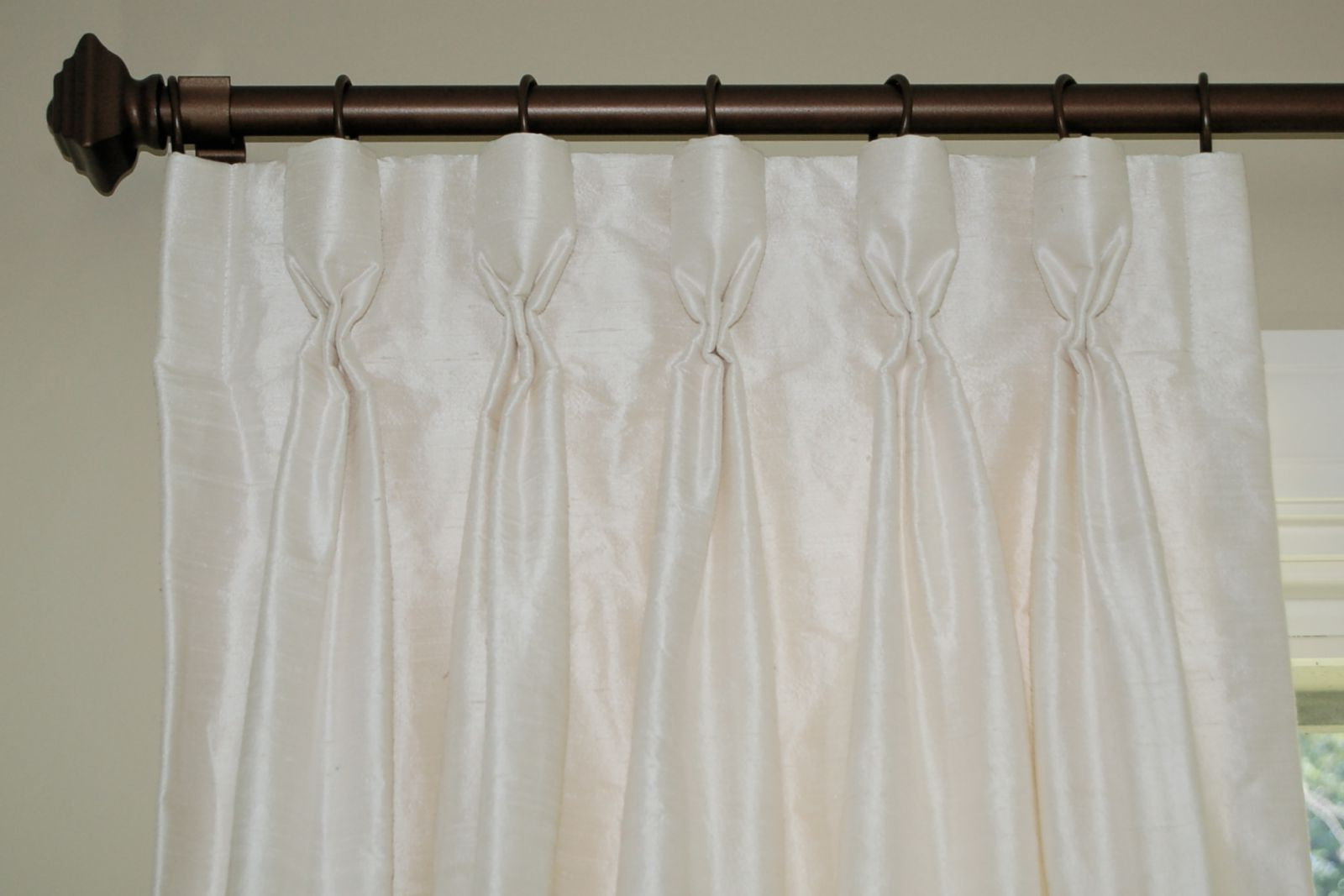 Best And Newest Solid Cotton Pleated Curtains Intended For Goblet Pleat Drapes & Curtains Custom Made To Your Exact (View 15 of 20)