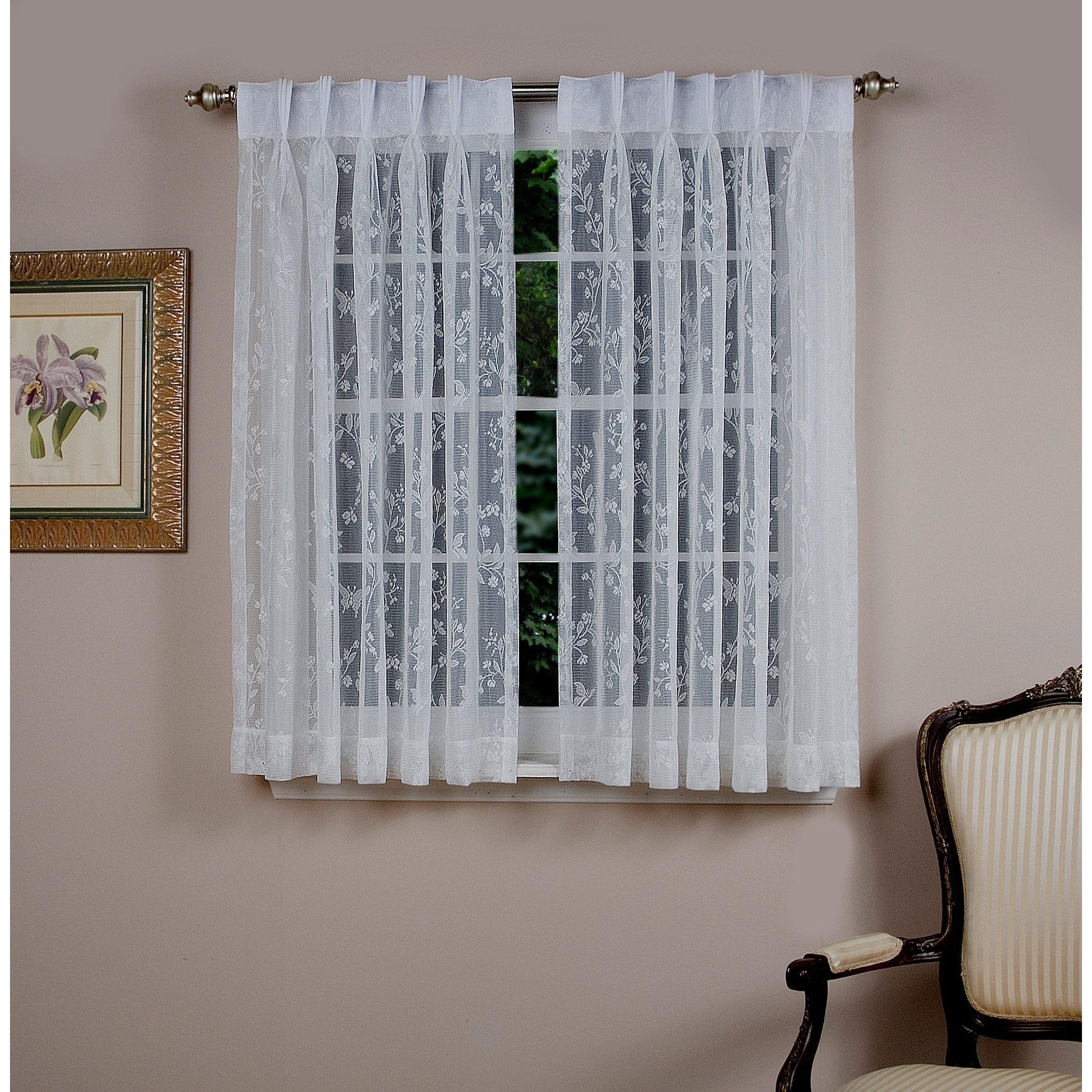 Buy 54 Inches Sheer Curtains Online At Overstock (View 14 of 20)