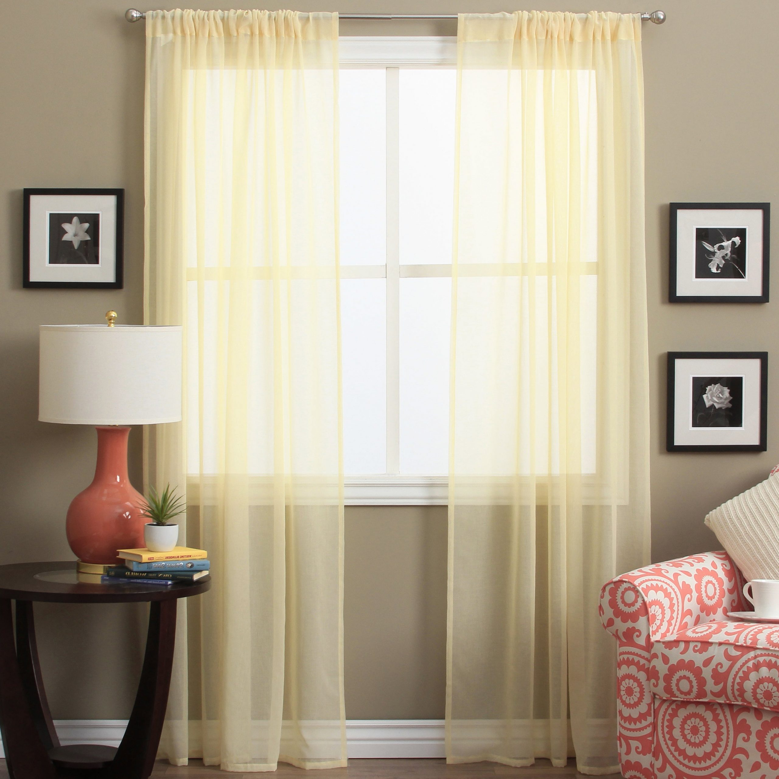 Buy 72 Inches Sheer Curtains Online At Overstock (View 18 of 20)