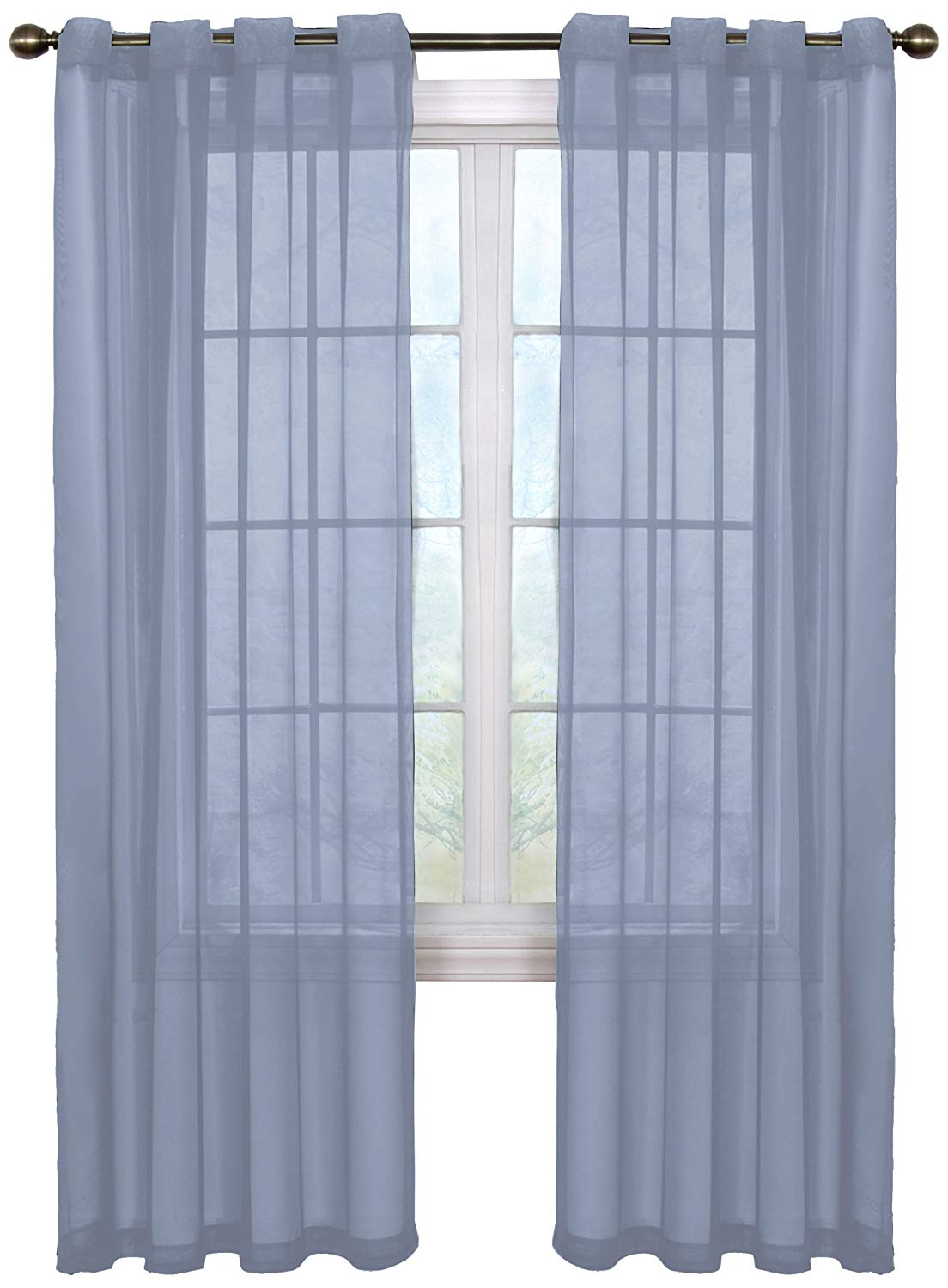 Buy Arm And Hammer Curtain Fresh Odor Neutralizing Sheer For Most Recently Released Arm And Hammer Curtains Fresh Odor Neutralizing Single Curtain Panels (View 14 of 20)