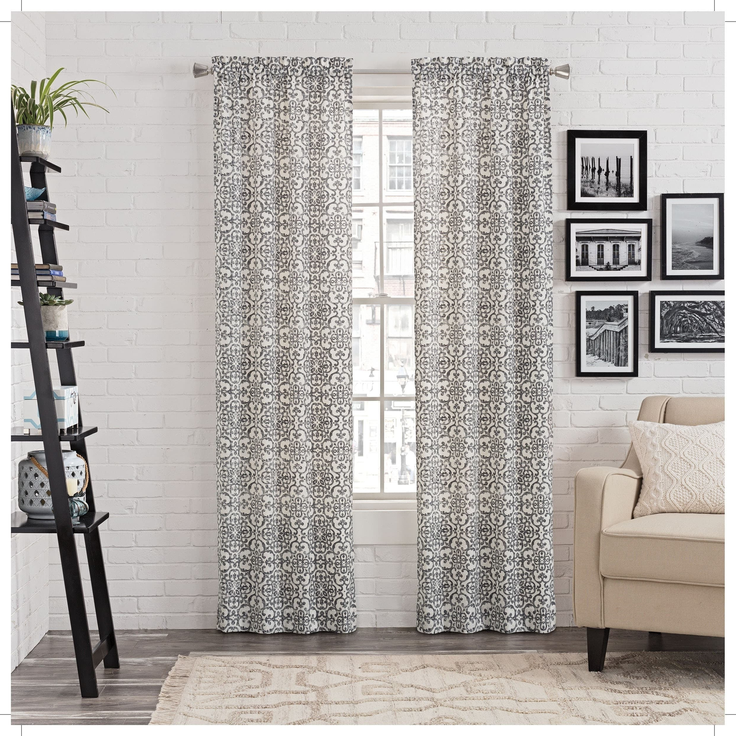 Buy Gracewood Hollow Curtains & Drapes Online At Overstock In Well Known Gracewood Hollow Tucakovic Energy Efficient Fabric Blackout Curtains (View 10 of 20)