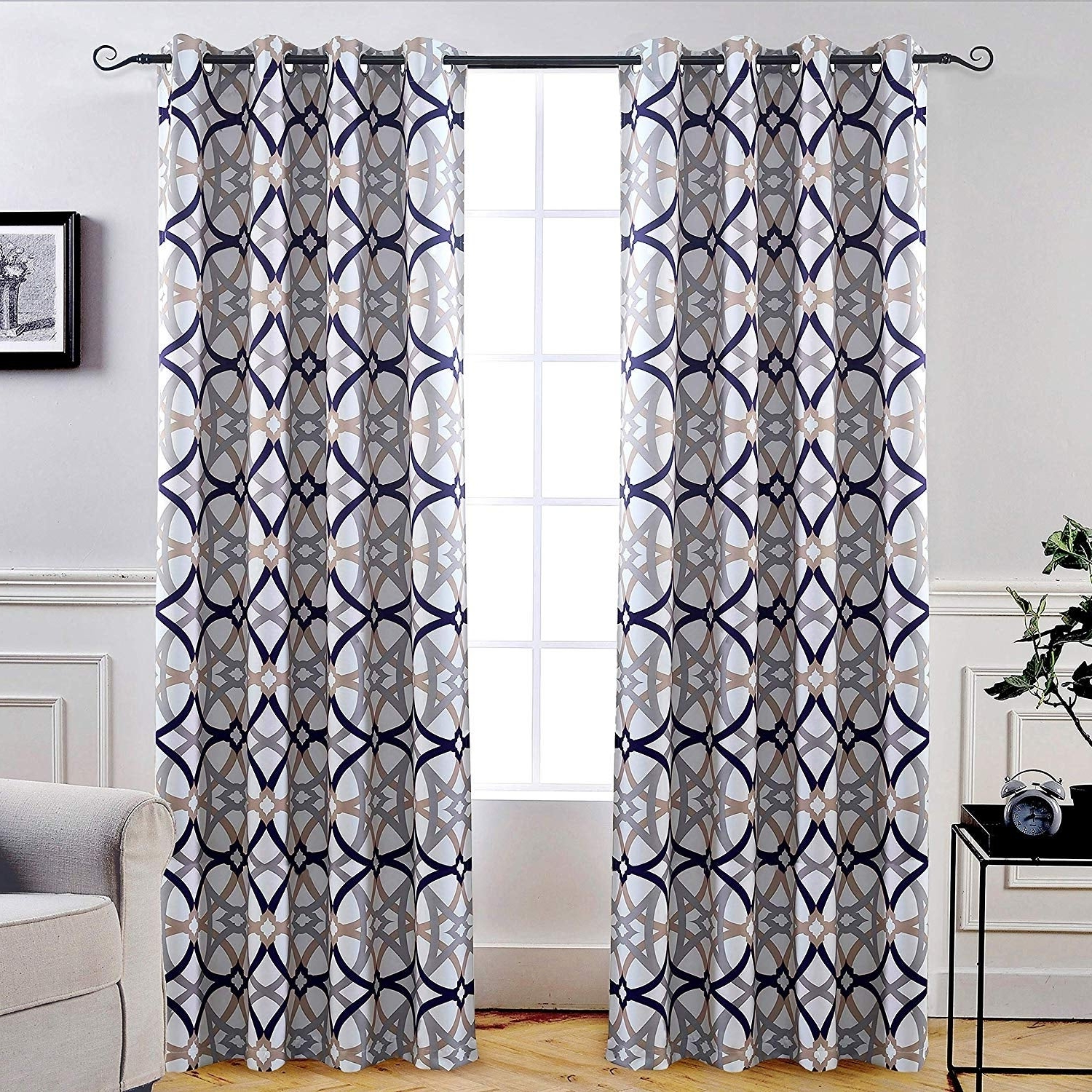 Carson Carrington Jarvenpaa Insulated Blackout Grommet Window Curtain Panel Pair Pertaining To Most Recent Insulated Blackout Grommet Window Curtain Panel Pairs (View 5 of 20)