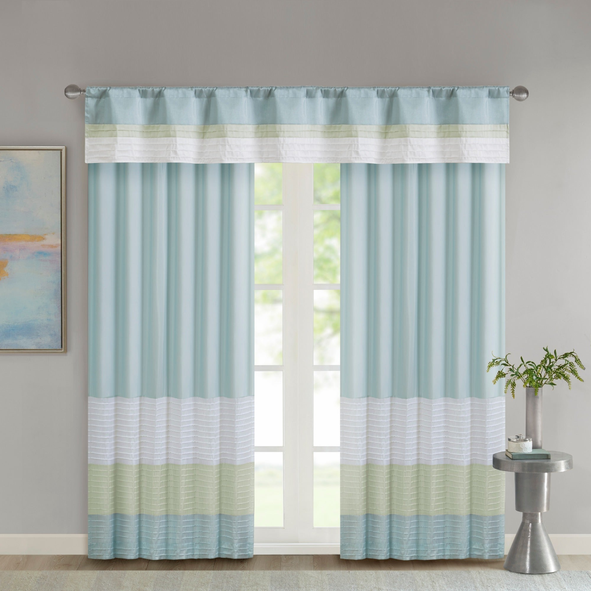 Featured Photo of Chester Polyoni Pintuck Curtain Panels
