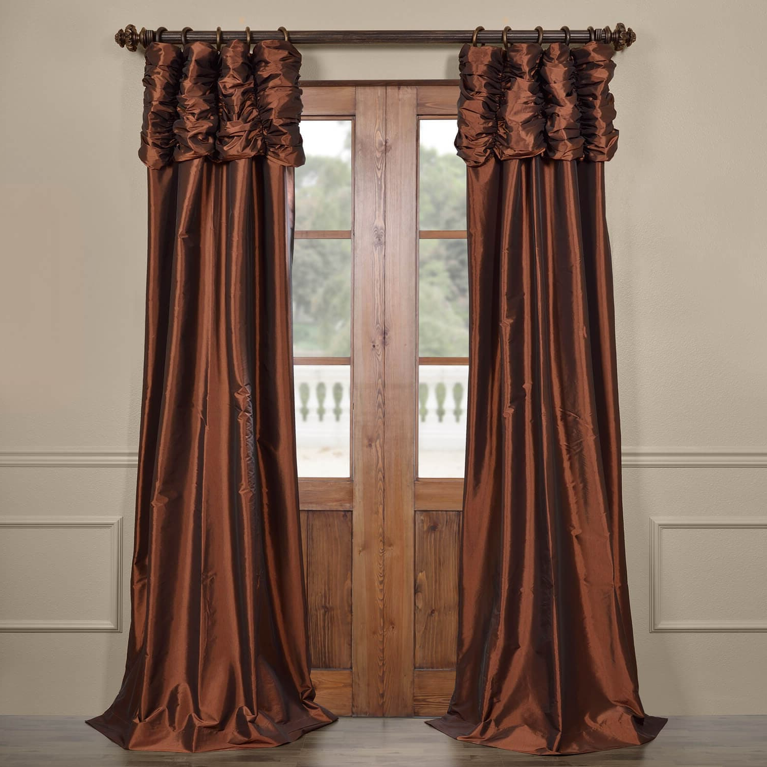 Copper Curtains Panels (View 20 of 20)