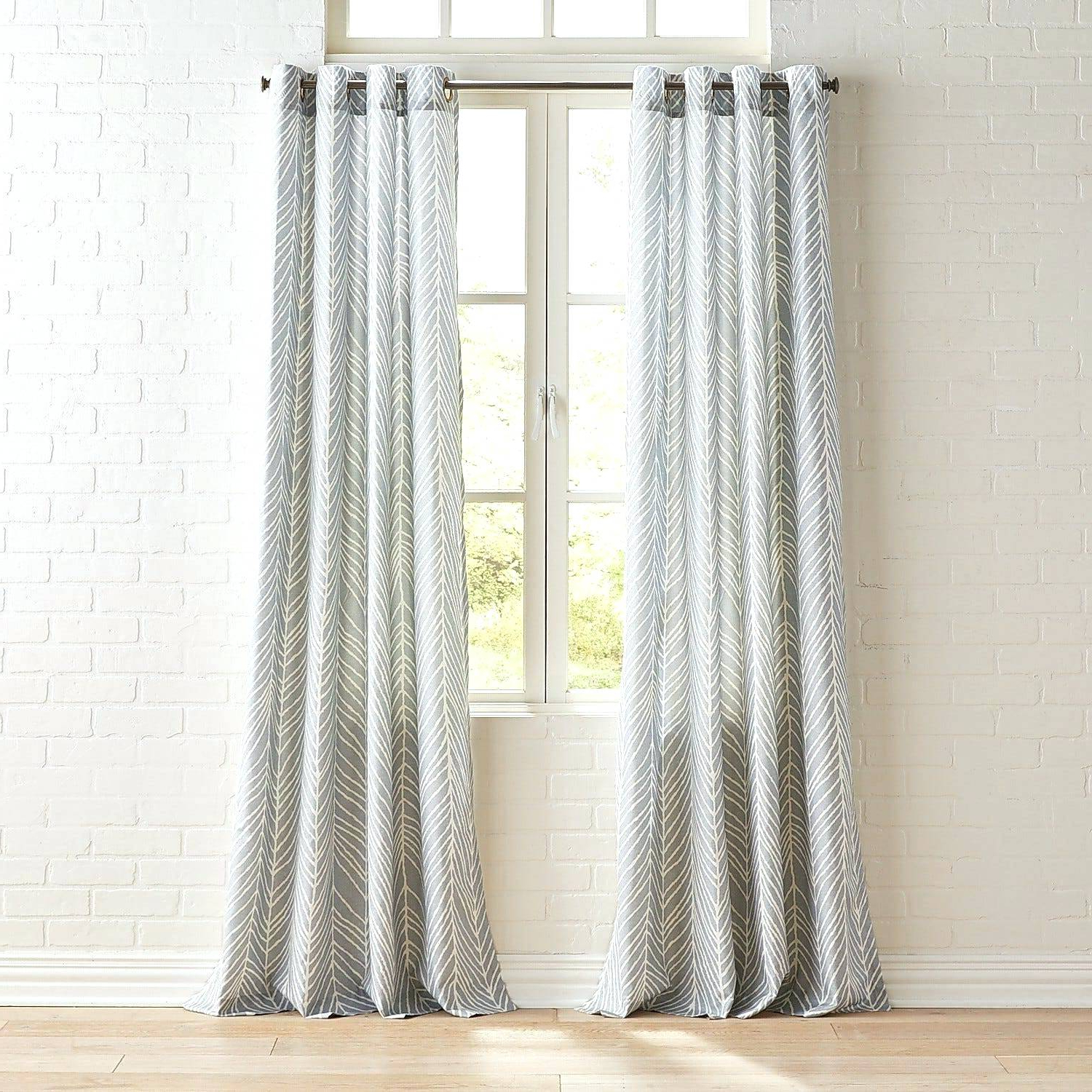 Copper Grove Speedwell Grommet Window Curtain Panels For Most Current Gray Grommet Curtains – Sparkchess (View 3 of 20)